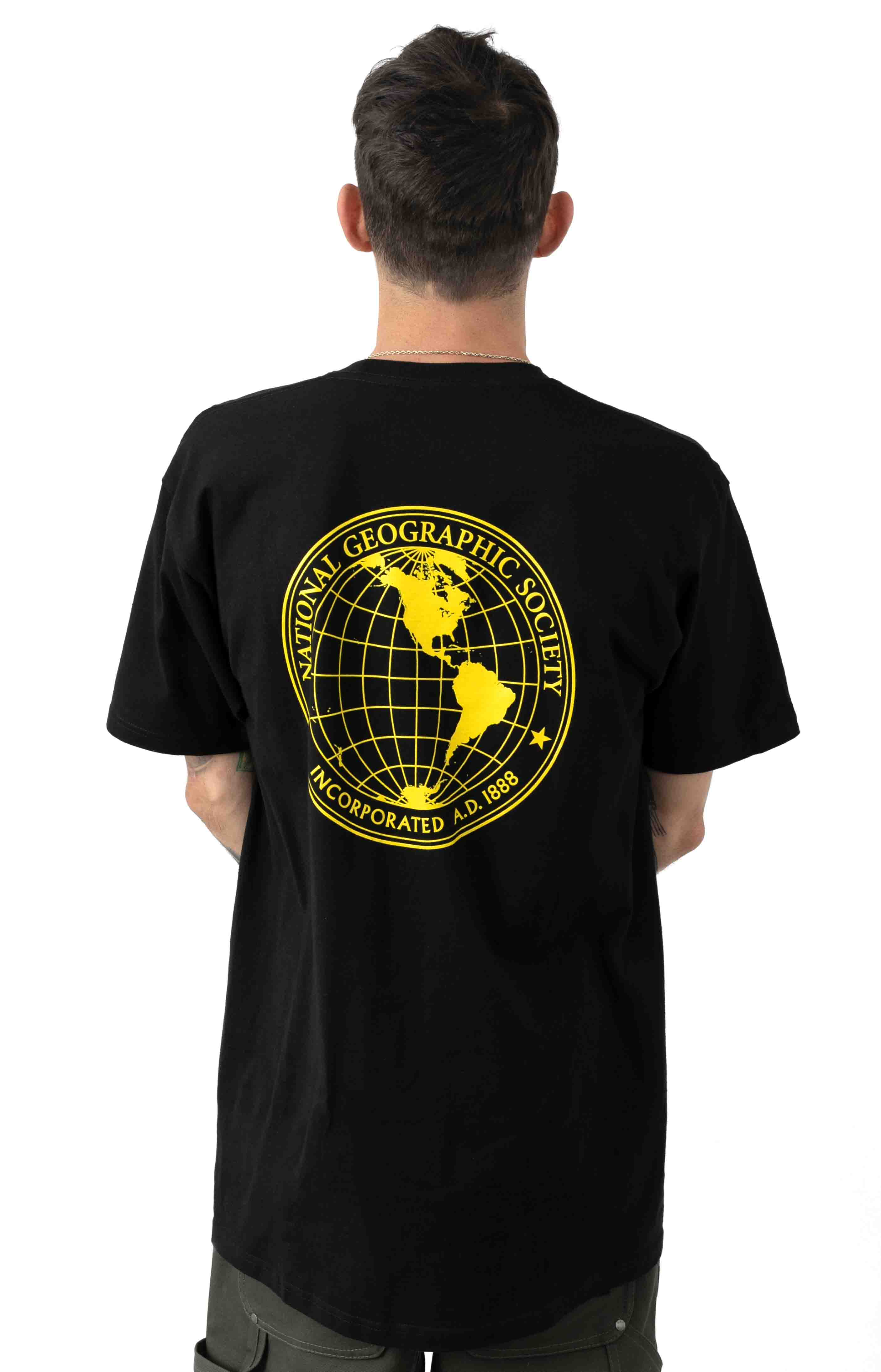 National Geographic T-Shirt - Black