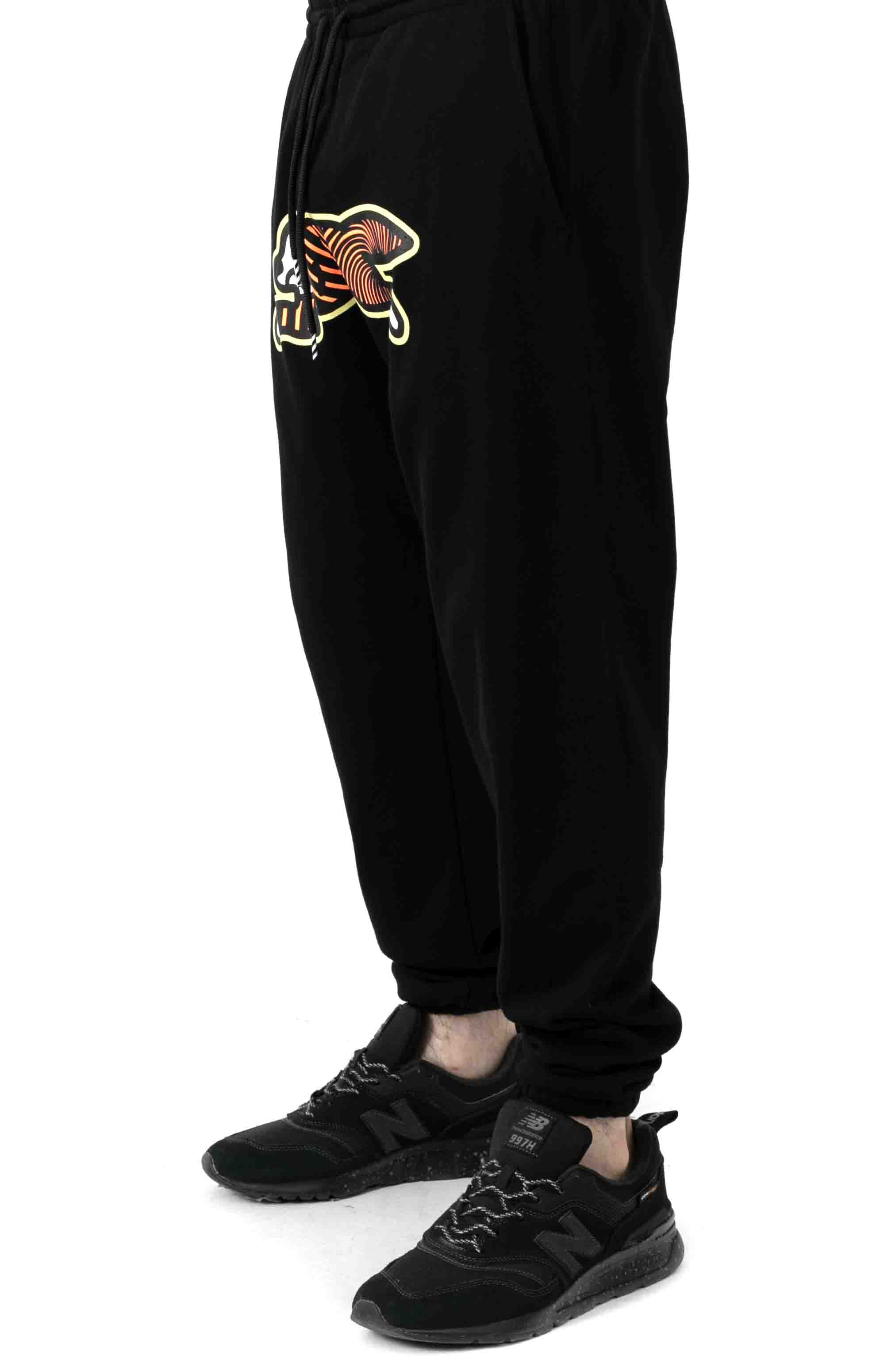 Spiral Sweatpant - Black 2