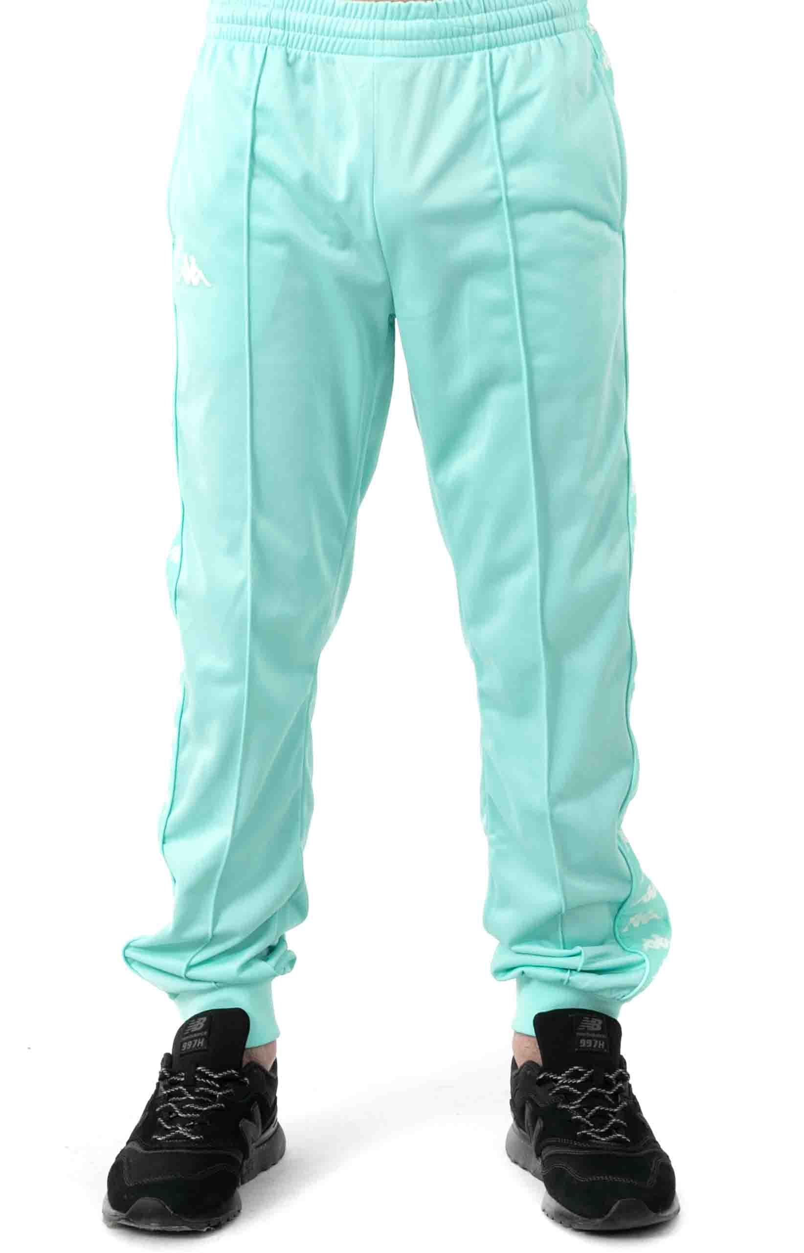 222 Banda Rastoriazz Trackpant - Green Aqua