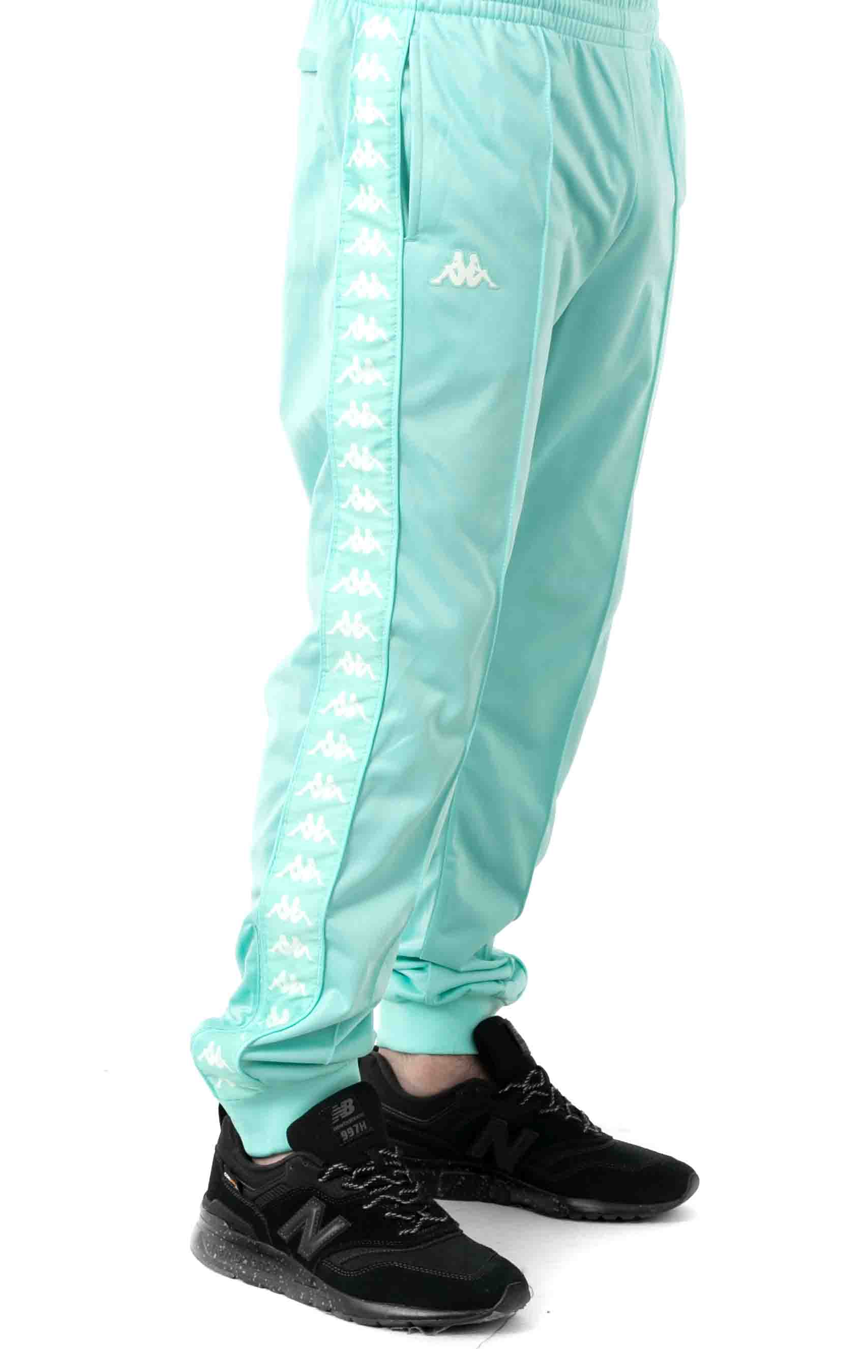 222 Banda Rastoriazz Trackpant - Green Aqua 2