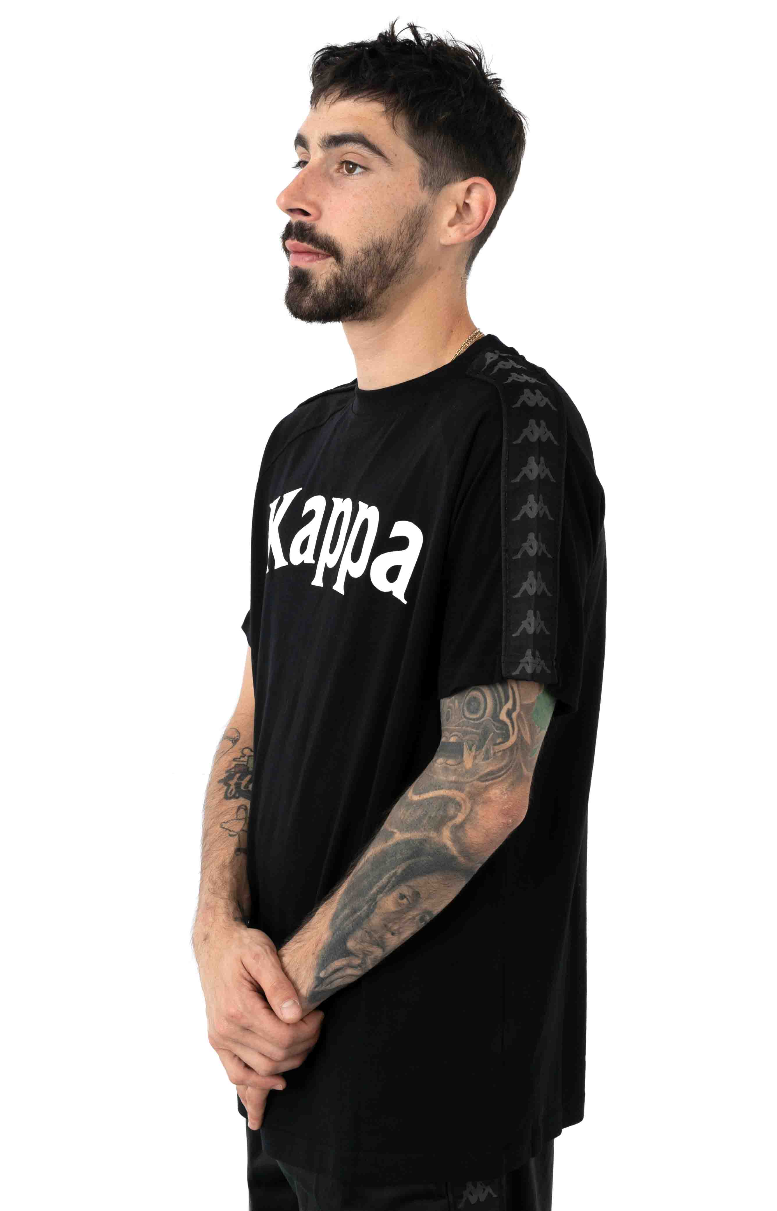 222 Banda Balima T-Shirt - Black/White 2