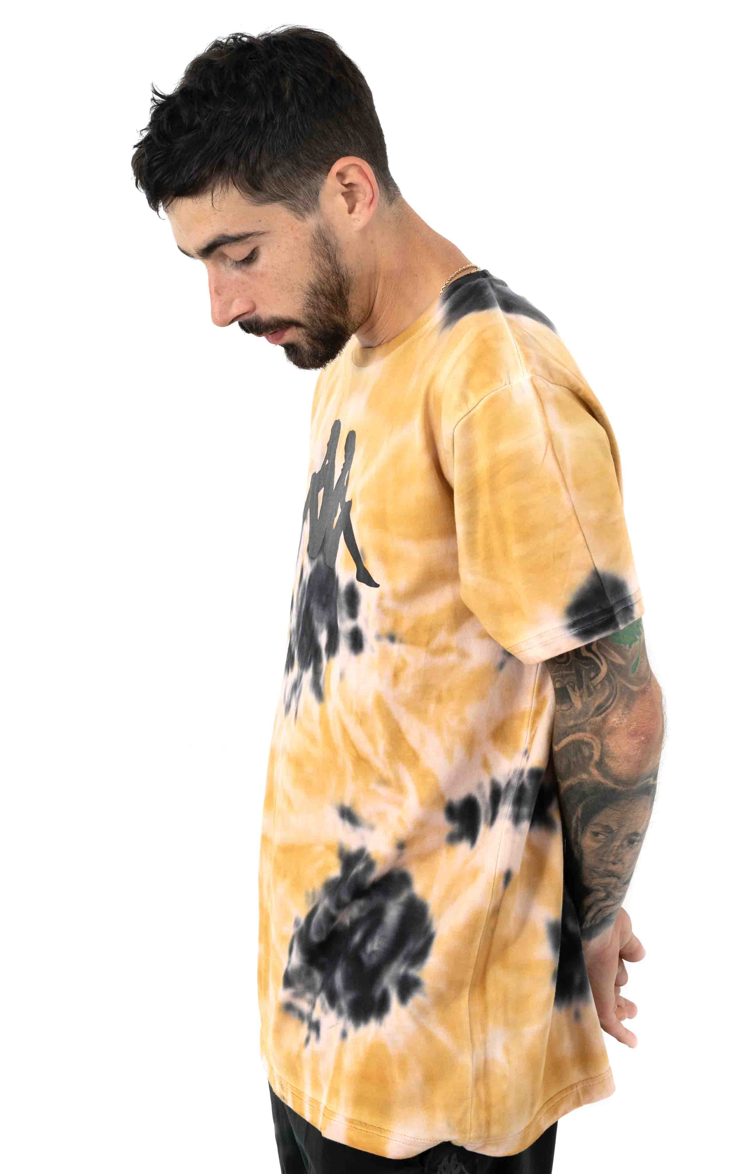 Authentic Gast T-Shirt - Beige/Black/Yellow 2