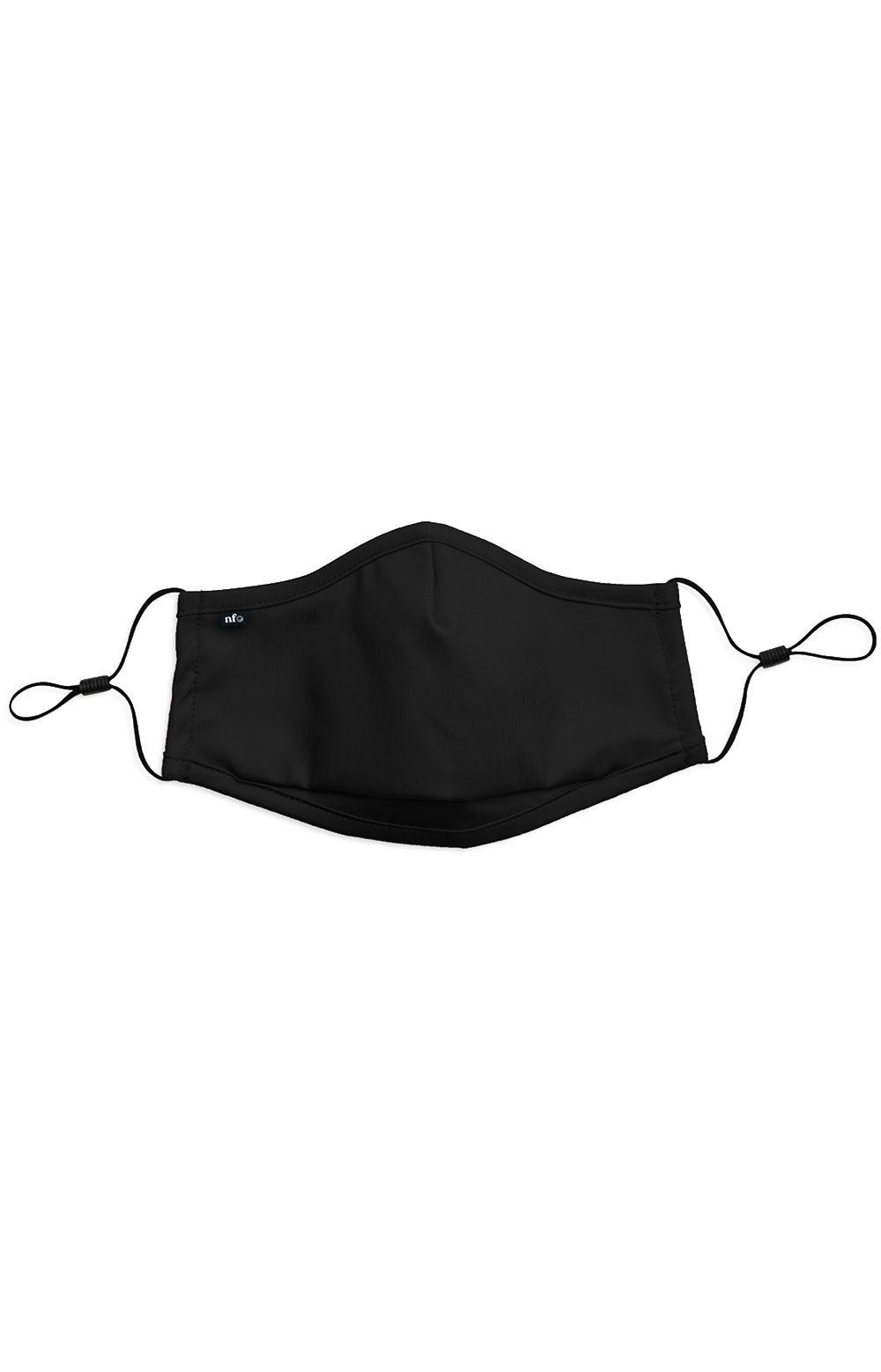 Adult Anti Bacterial Knit Face Mask - Black
