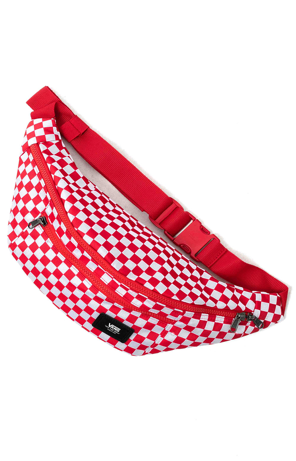 Ward Cross Body Pack - Red Check  2