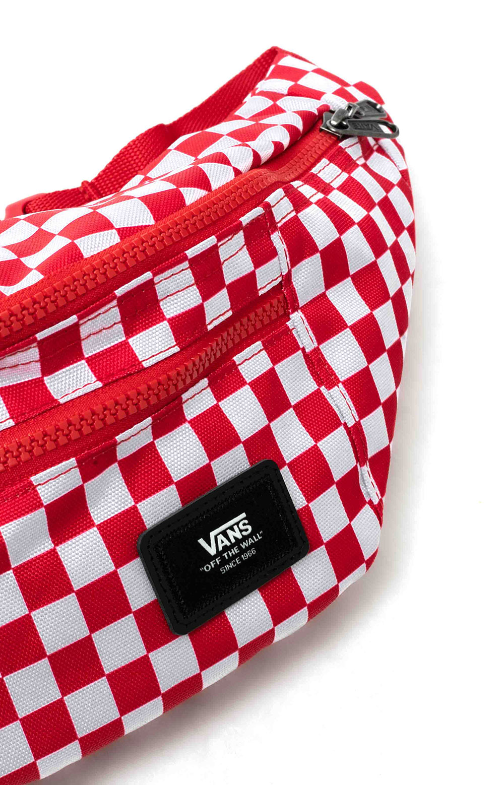 Ward Cross Body Pack - Red Check  3