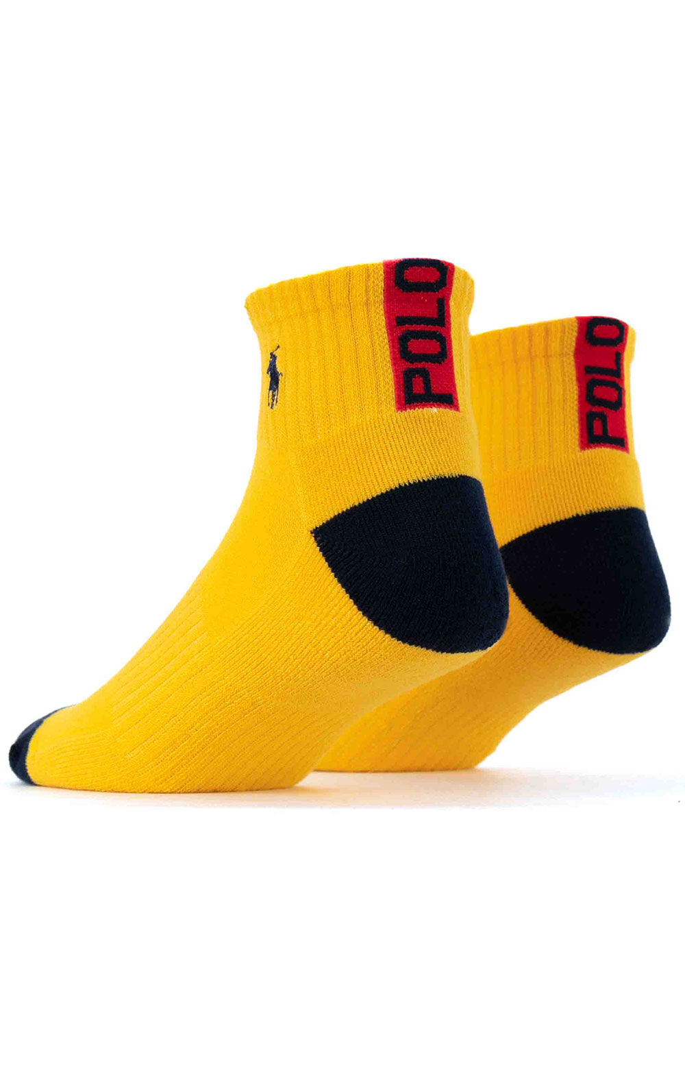 Colorblock Cushioned Quarter Socks - 6 Pack 13