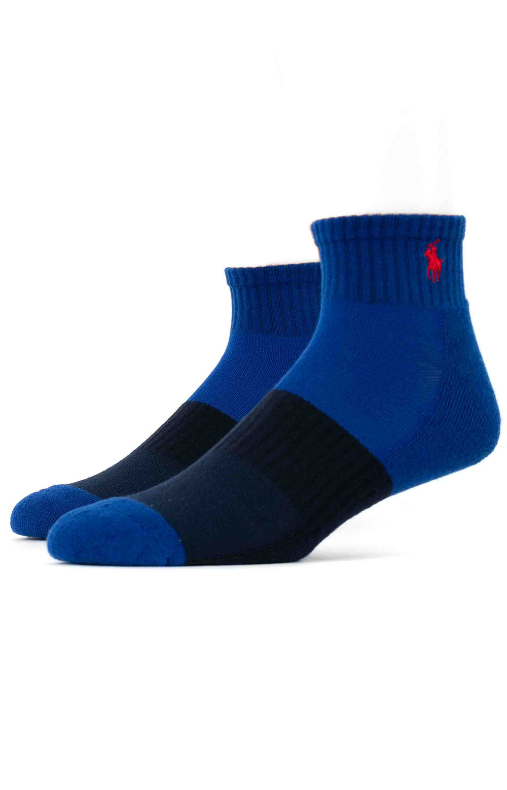 Colorblock Cushioned Quarter Socks - 6 Pack 14