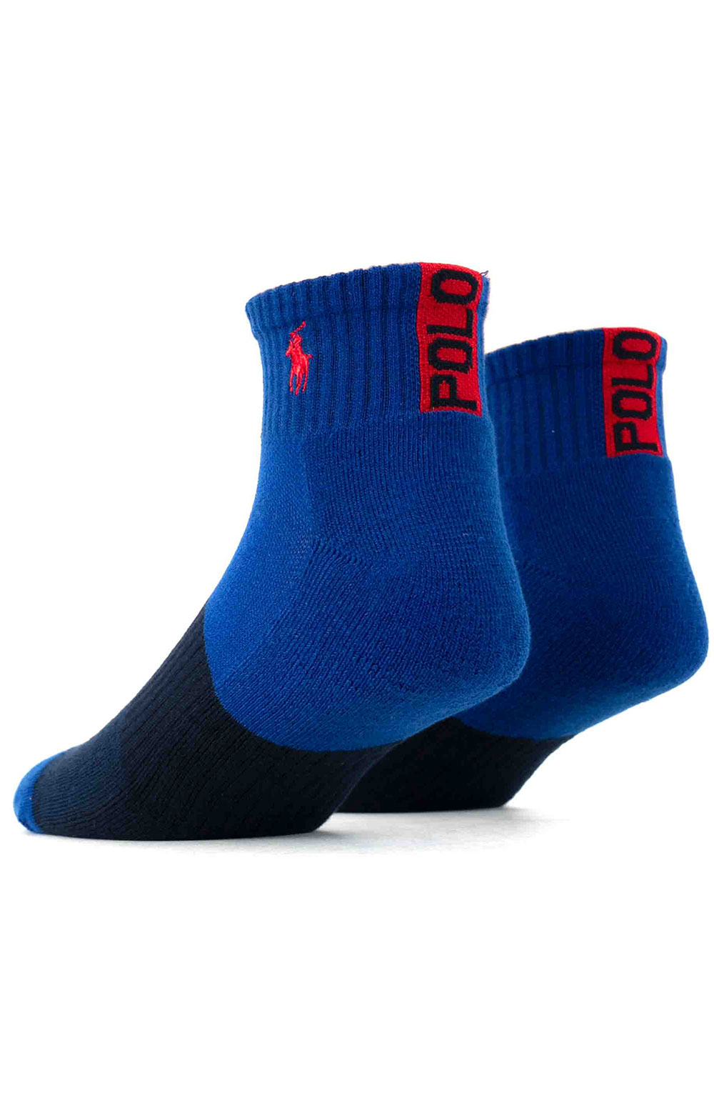 Colorblock Cushioned Quarter Socks - 6 Pack 15