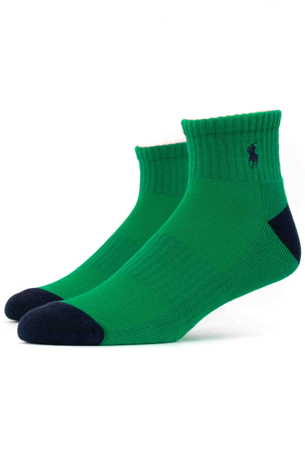 Colorblock Cushioned Quarter Socks - 6 Pack 6