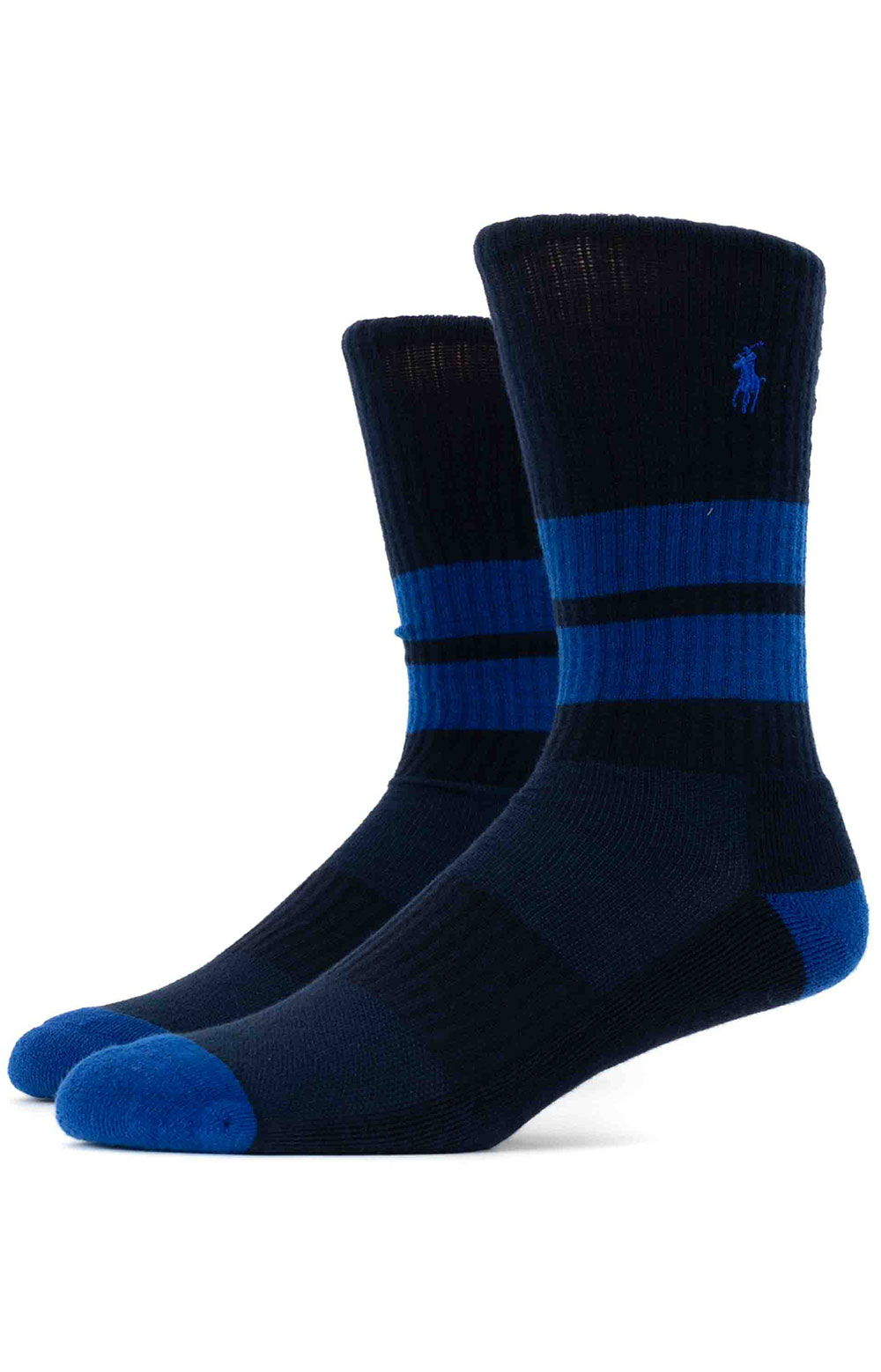 Colorblock Cushioned Crew Socks - 6 Pack 4