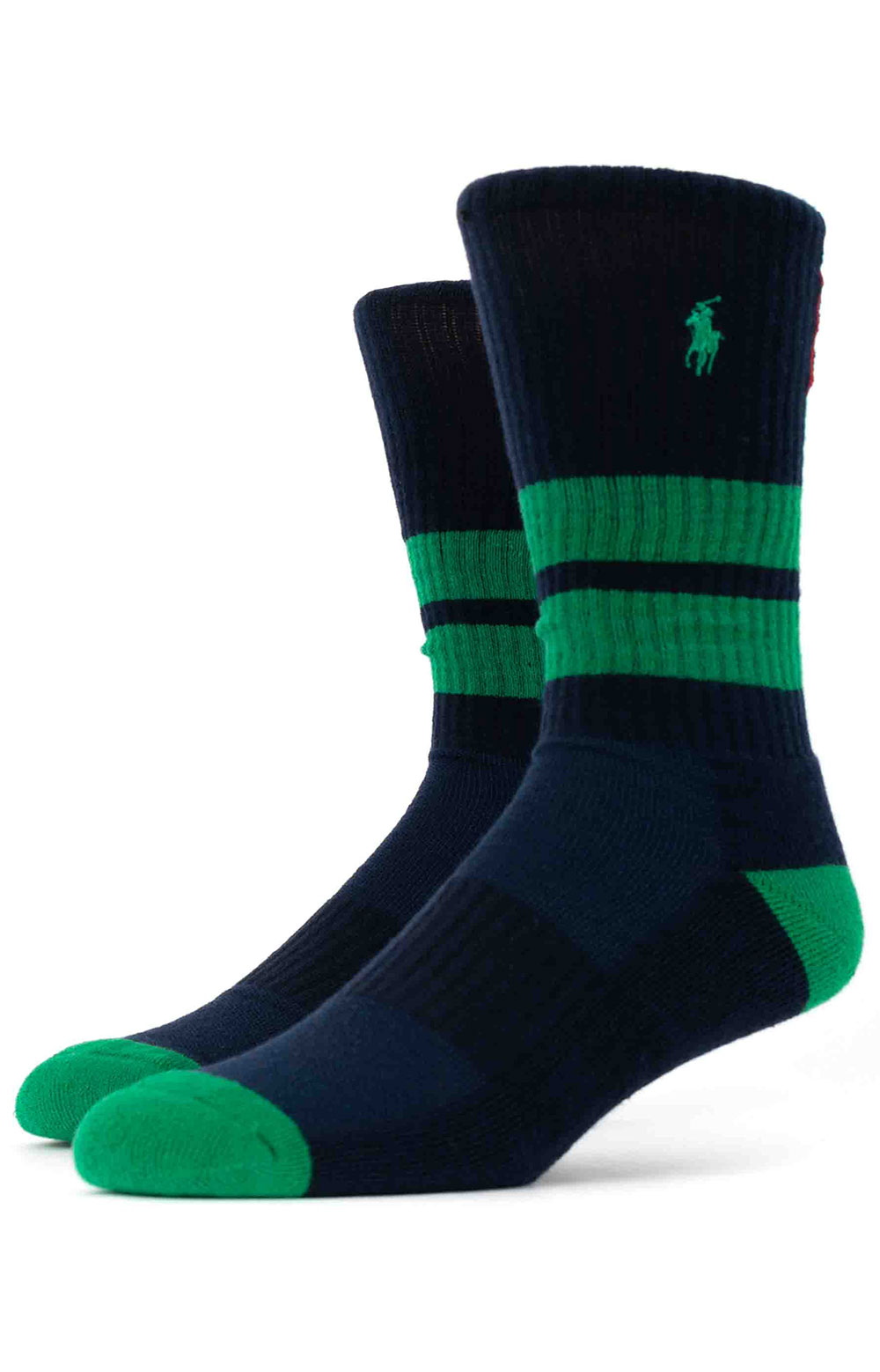 Colorblock Cushioned Crew Socks - 6 Pack 13