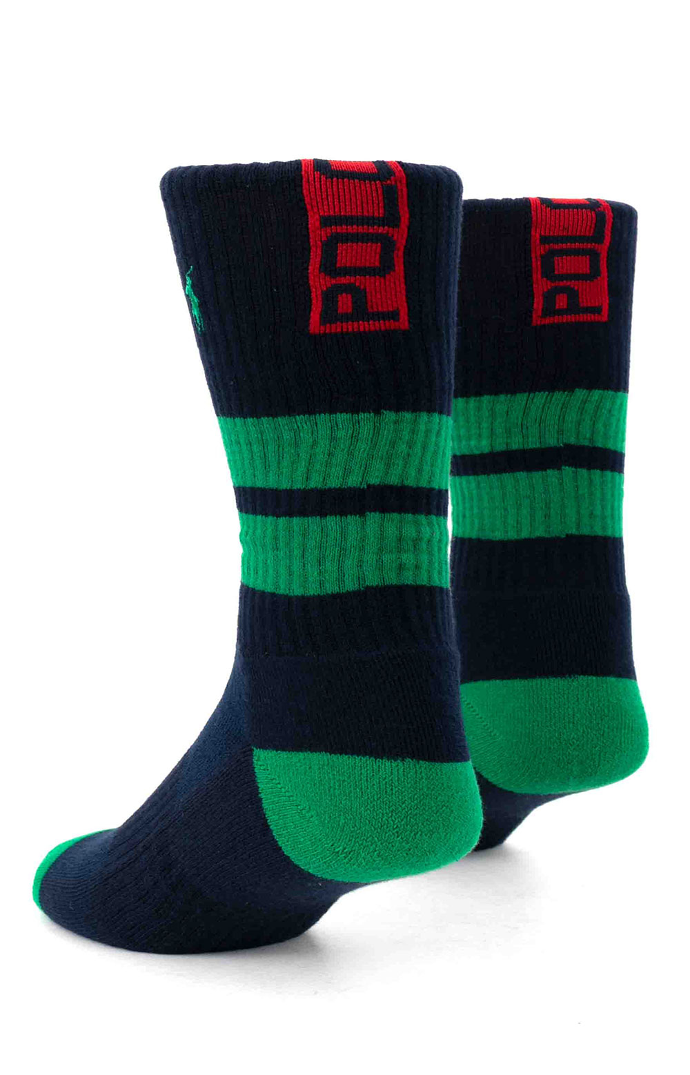 Colorblock Cushioned Crew Socks - 6 Pack 14