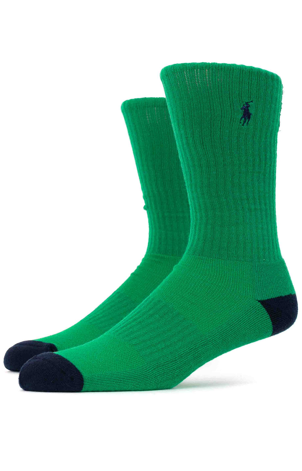 Colorblock Cushioned Crew Socks - 6 Pack 6