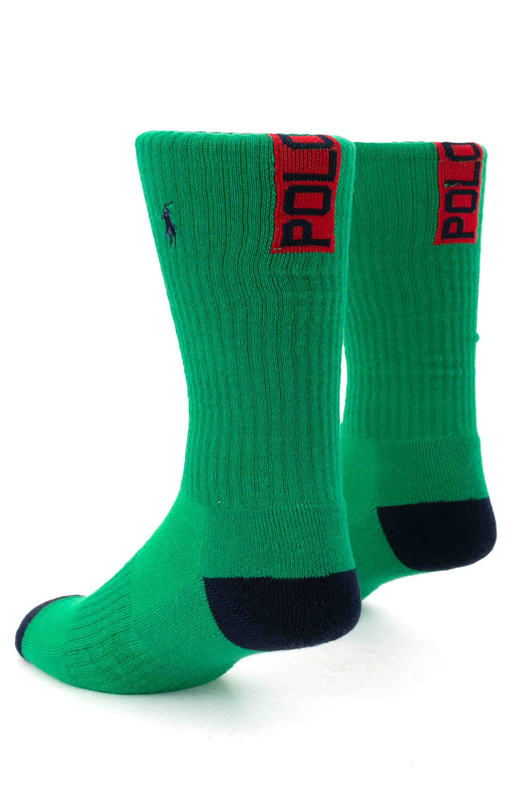 Colorblock Cushioned Crew Socks - 6 Pack 7