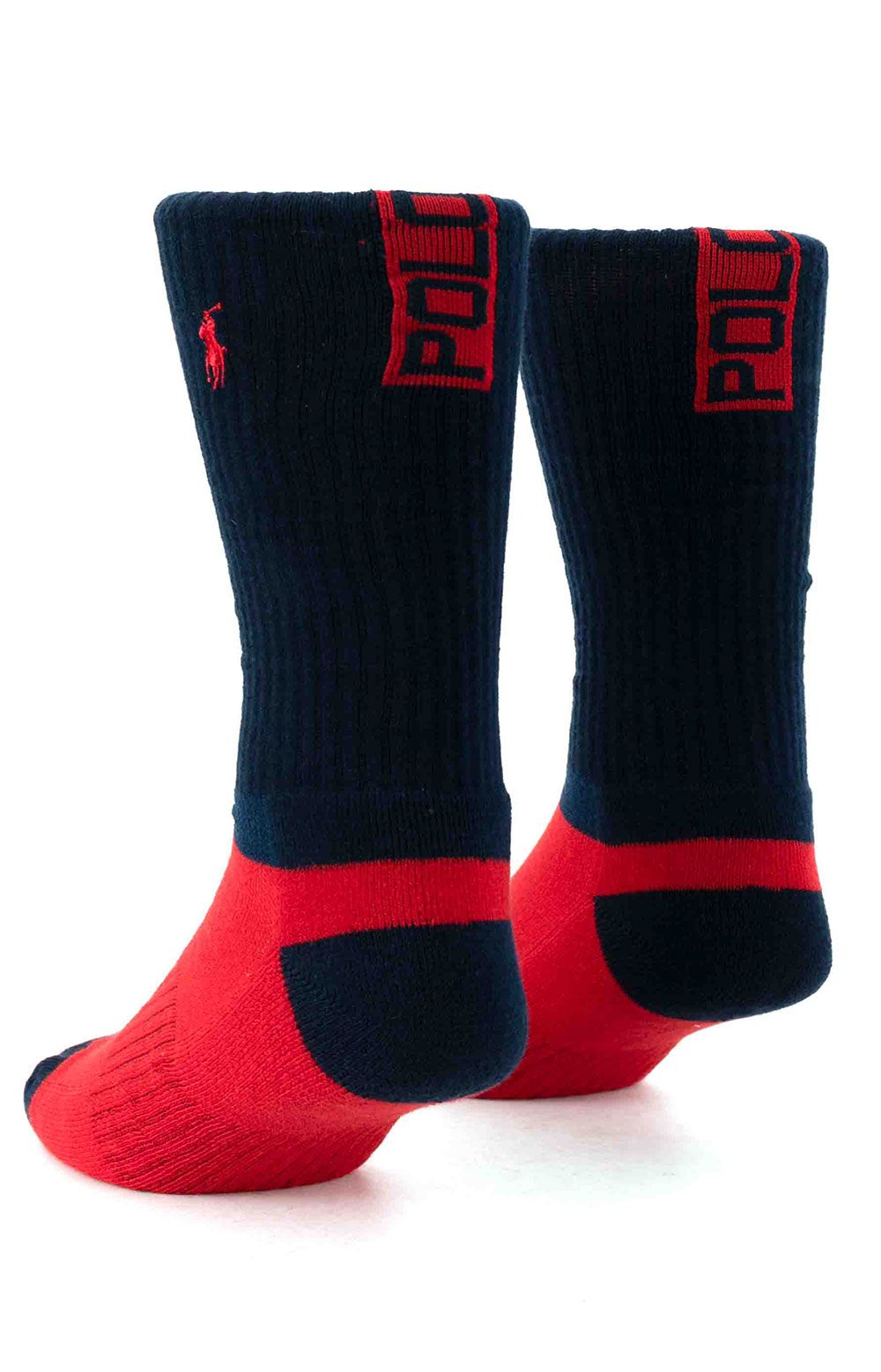 Colorblock Cushioned Crew Socks - 6 Pack 9