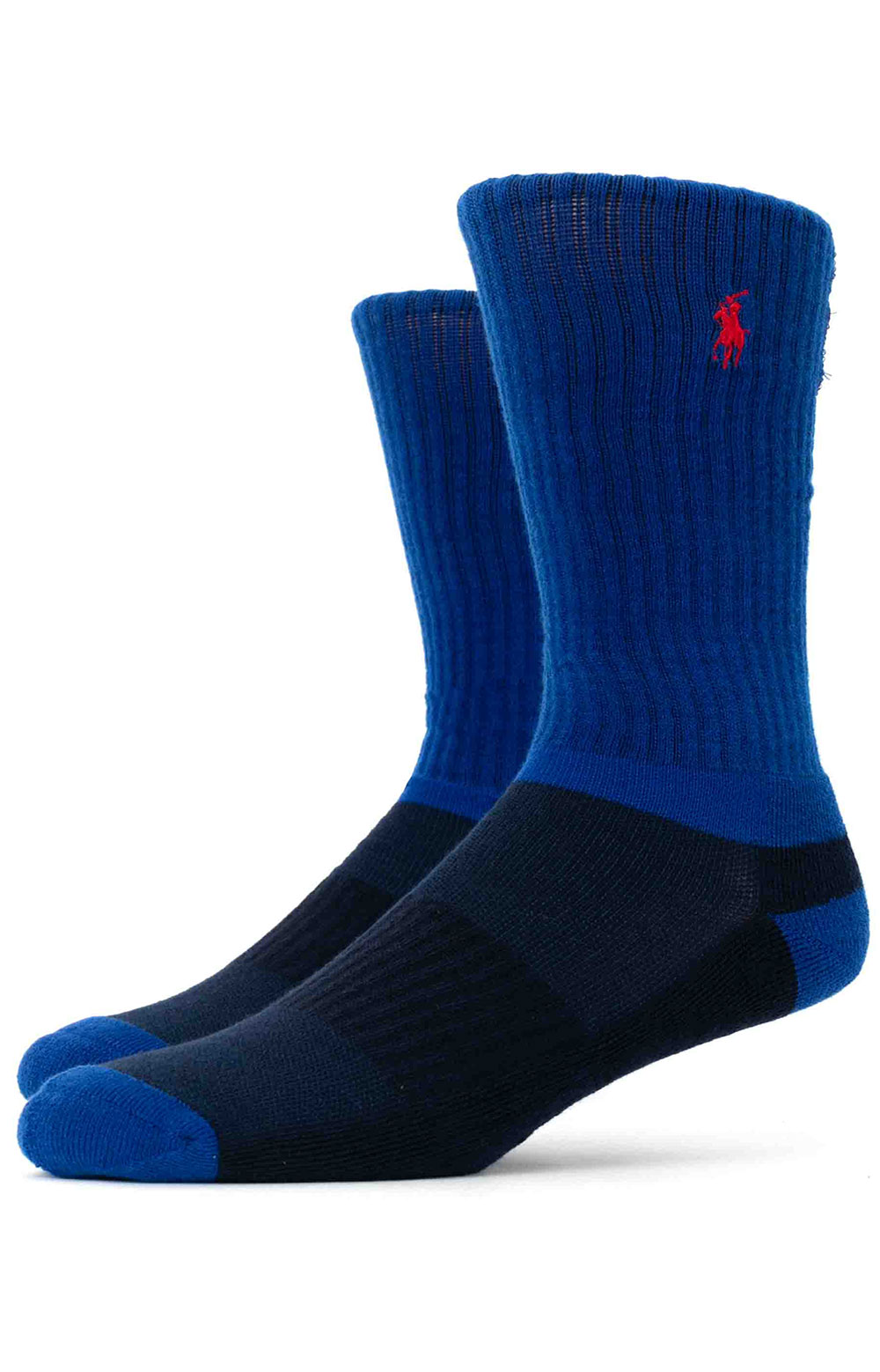 Colorblock Cushioned Crew Socks - 6 Pack 10