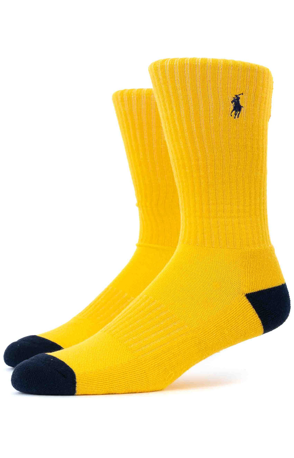 Colorblock Cushioned Crew Socks - 6 Pack 11