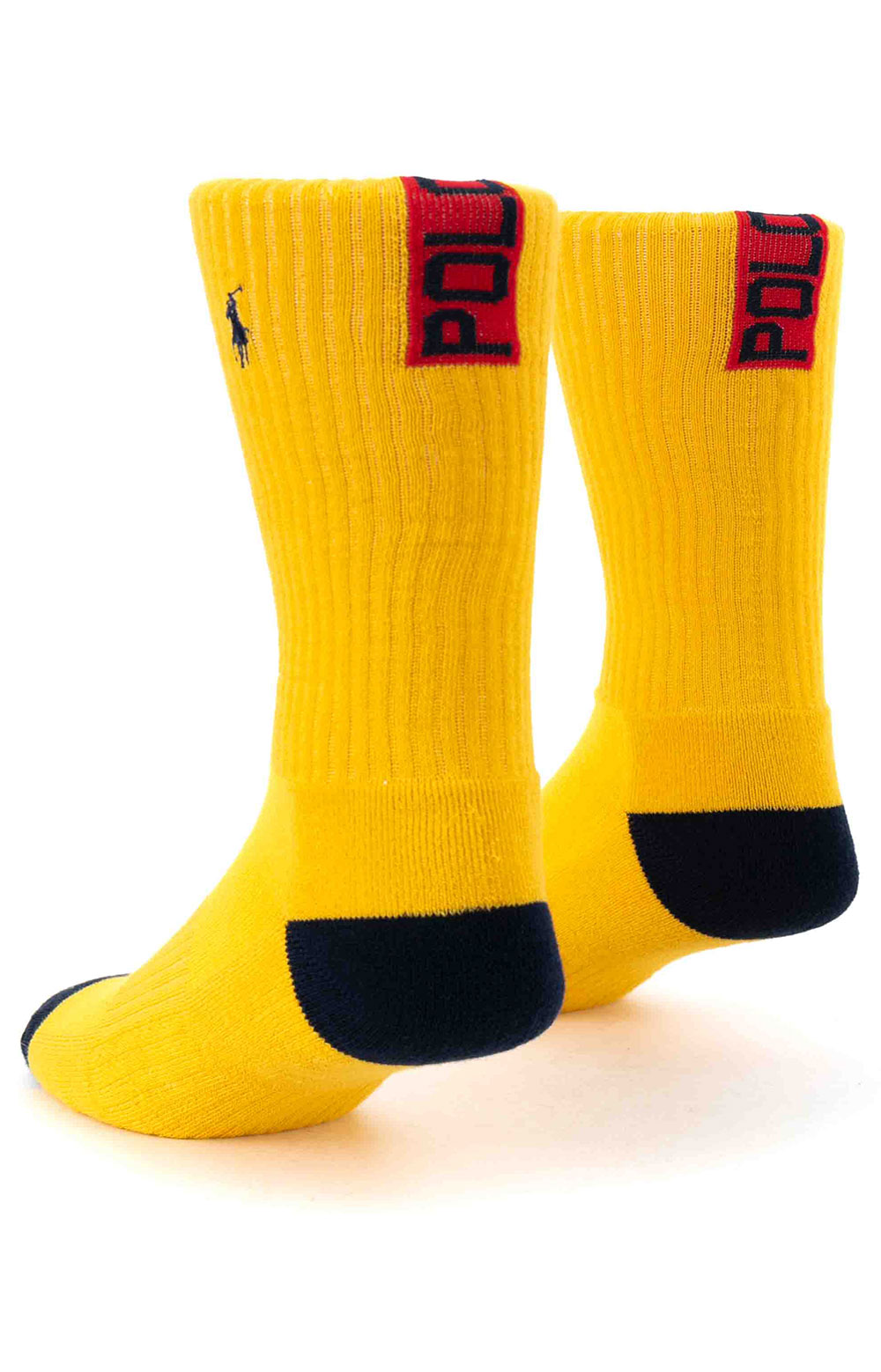 Colorblock Cushioned Crew Socks - 6 Pack 12