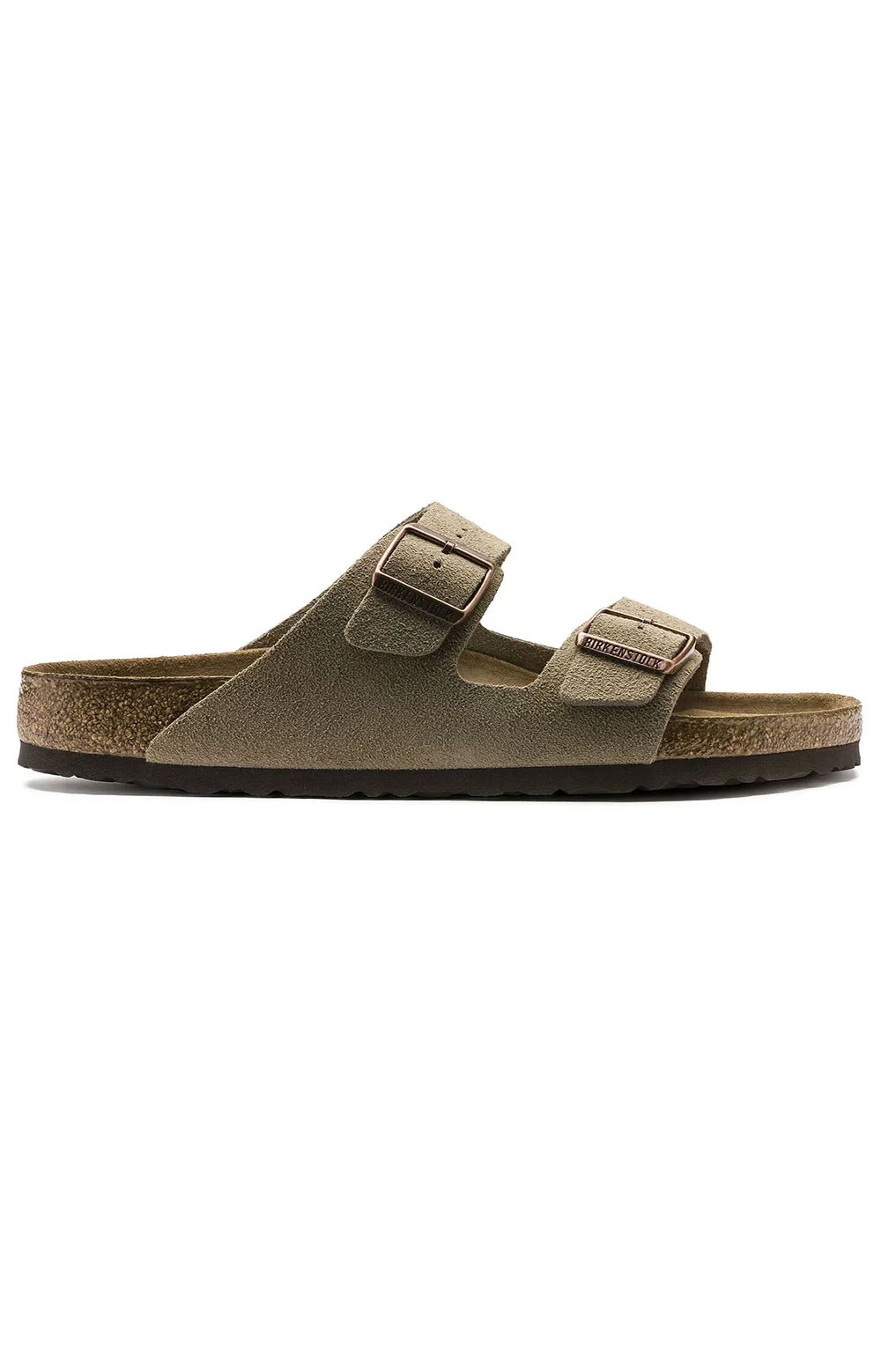 (0951303) Arizona Soft Foodbed Sandals - Taupe 5