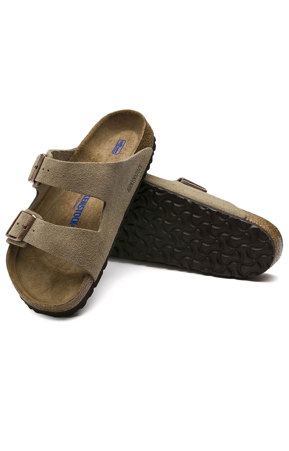 (0951303) Arizona Soft Foodbed Sandals - Taupe 6