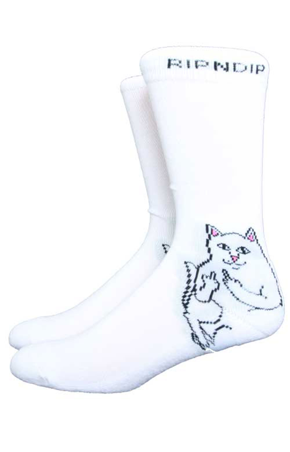 Lord Nermal Socks - White
