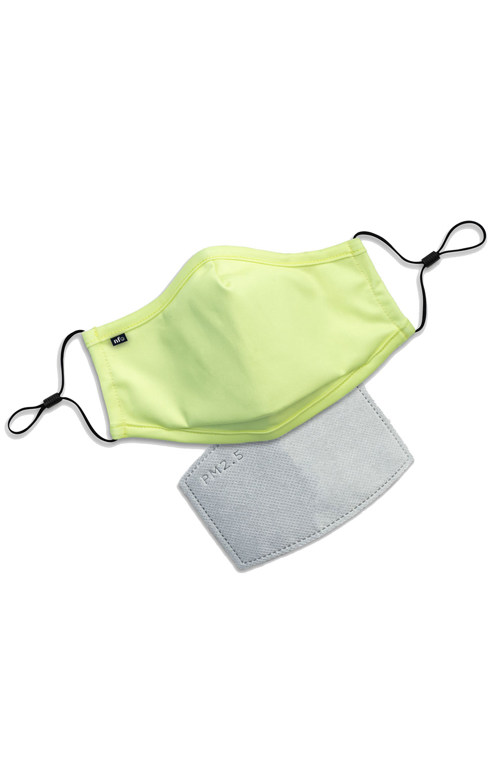 Adult Anti Bacterial Knit Face Mask - Neon 2