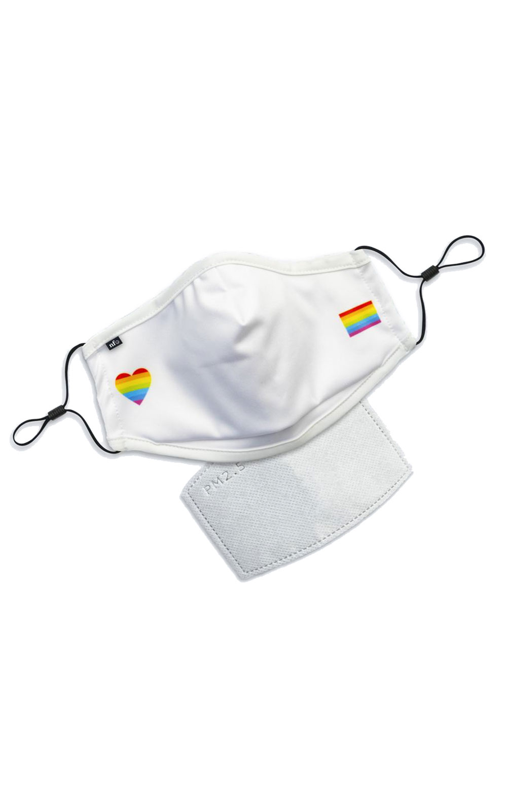 Adult Anti Bacterial Knit Face Mask - Pride  2