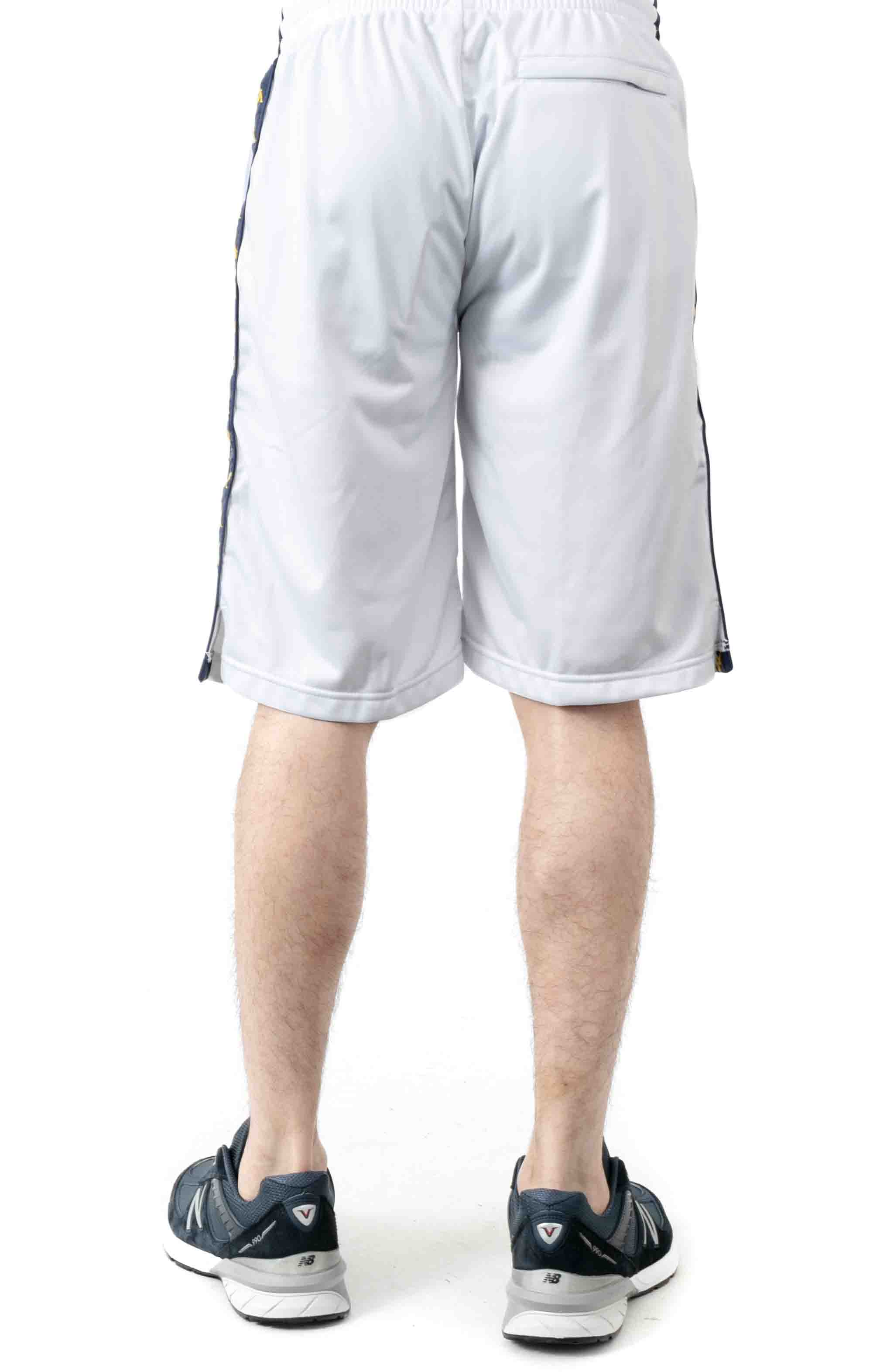222 Banda Treadwellz Shorts - White/Blue Mid/Yellow 3
