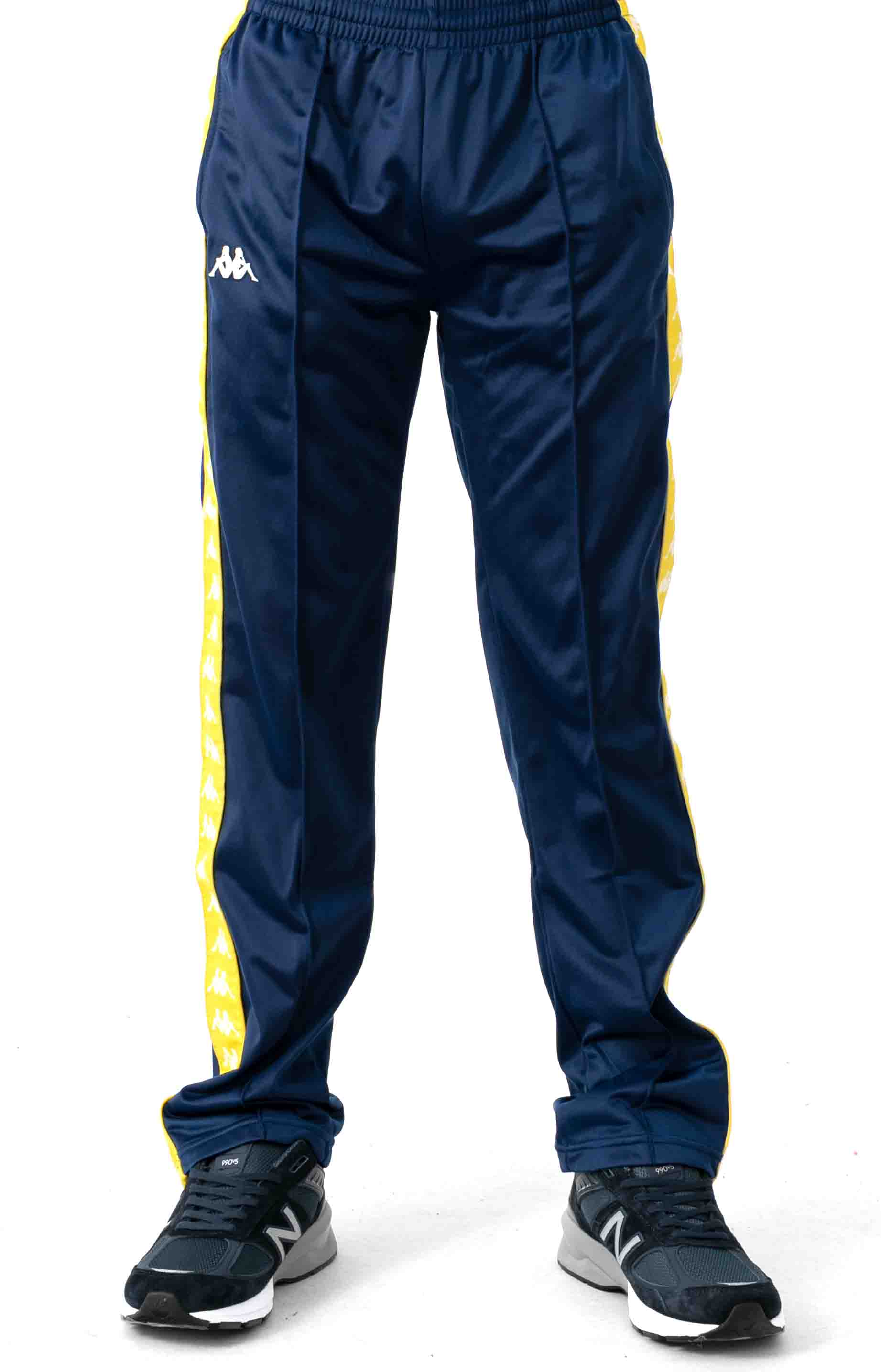 222 Banda Astoriazz Trackpant - Blue Mid/Yellow 2