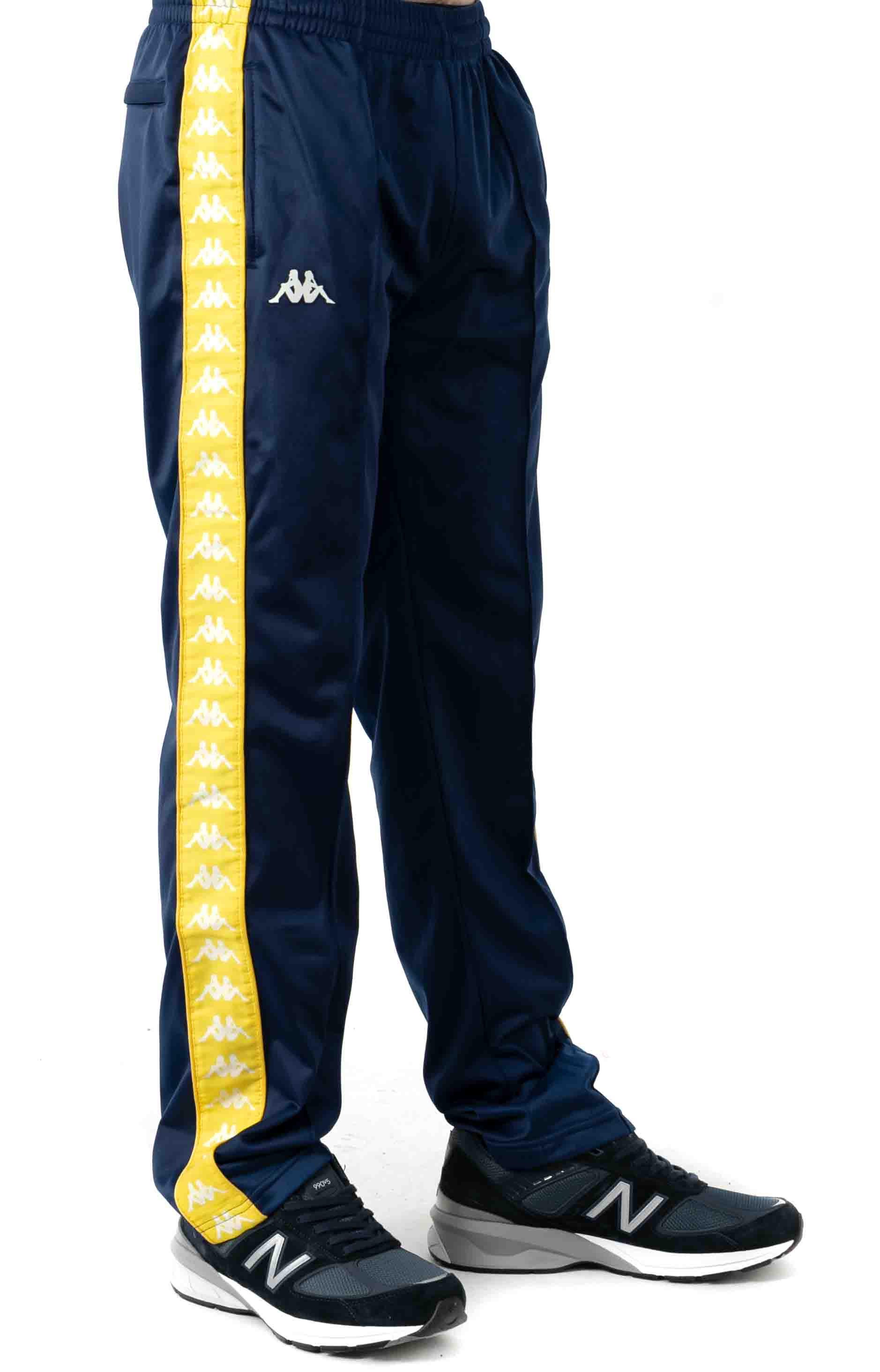 222 Banda Astoriazz Trackpant - Blue Mid/Yellow