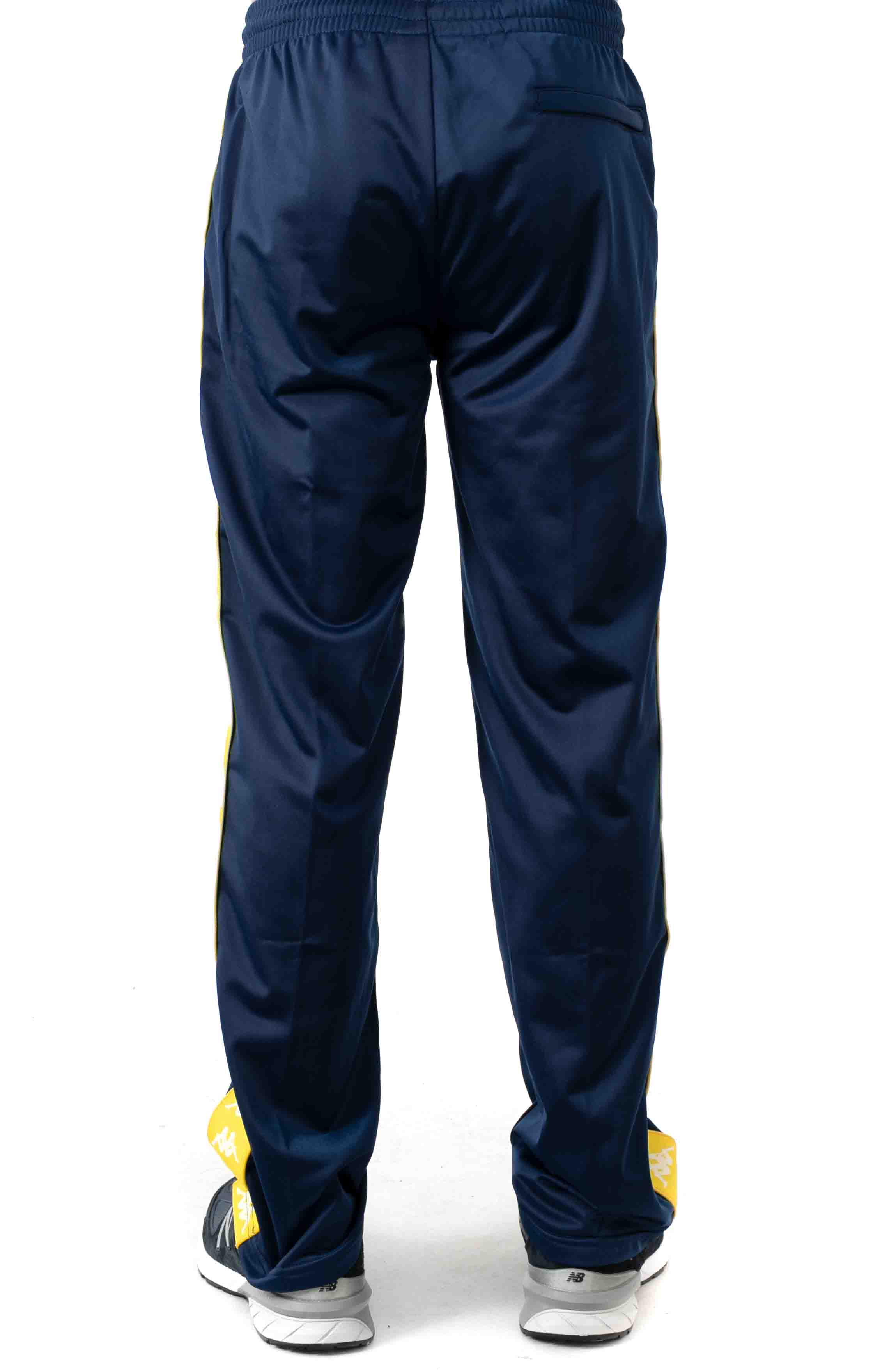 222 Banda Astoriazz Trackpant - Blue Mid/Yellow 3