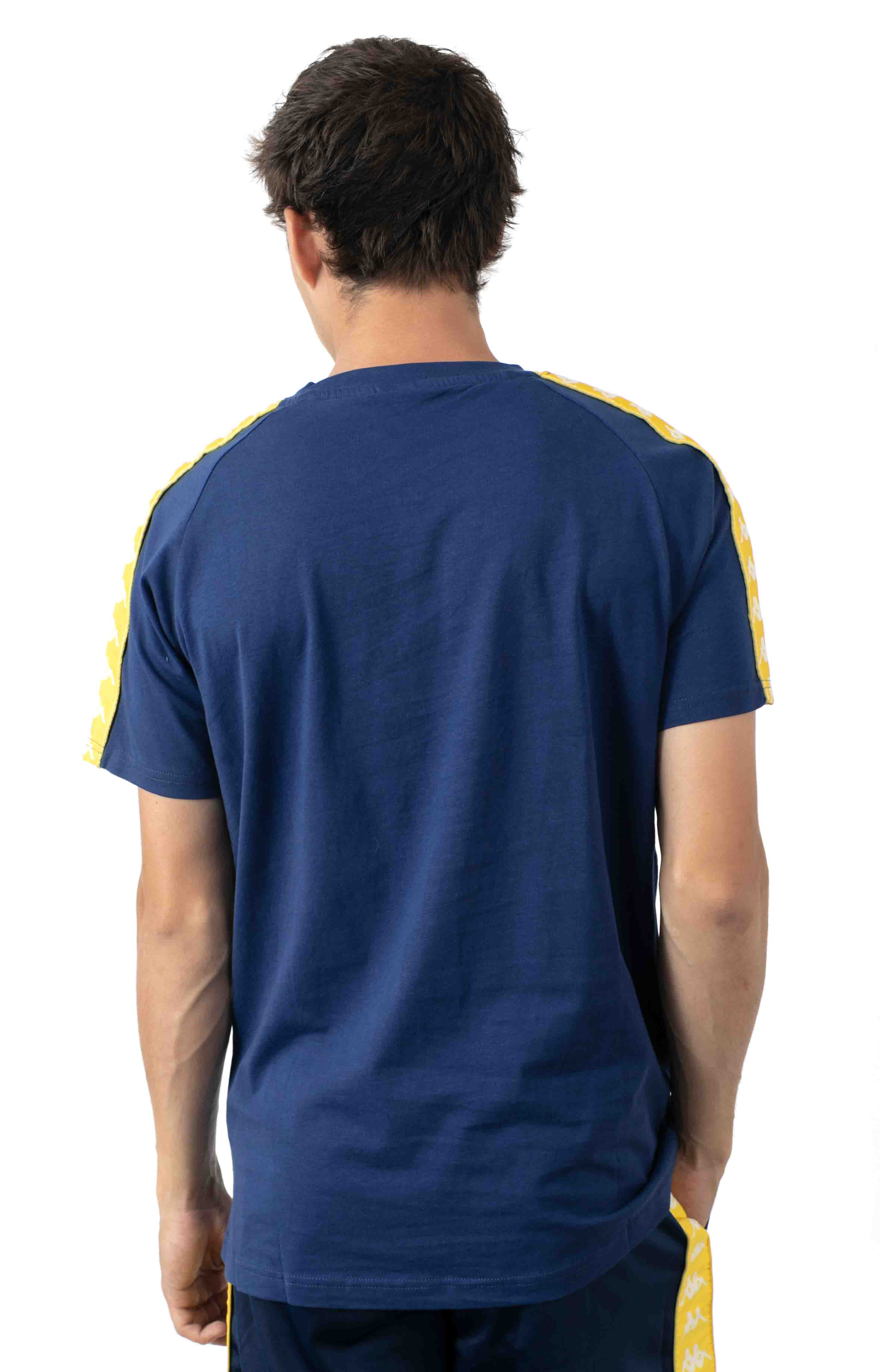 222 Banda Balima T-Shirt - Blue Mid/Yellow 3