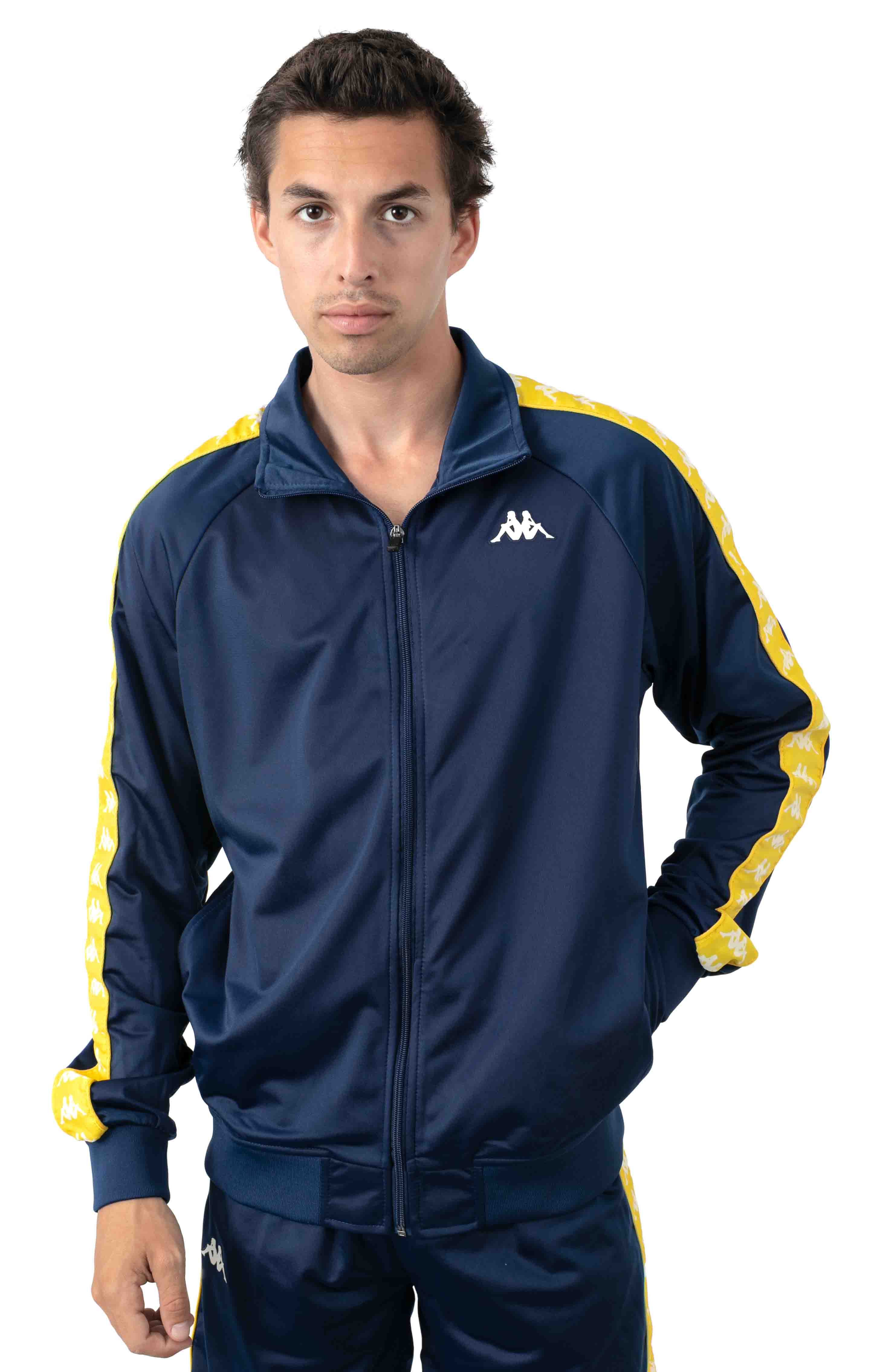 222 Banda Anniston Jacket - Blue Mid/Yellow Yolk
