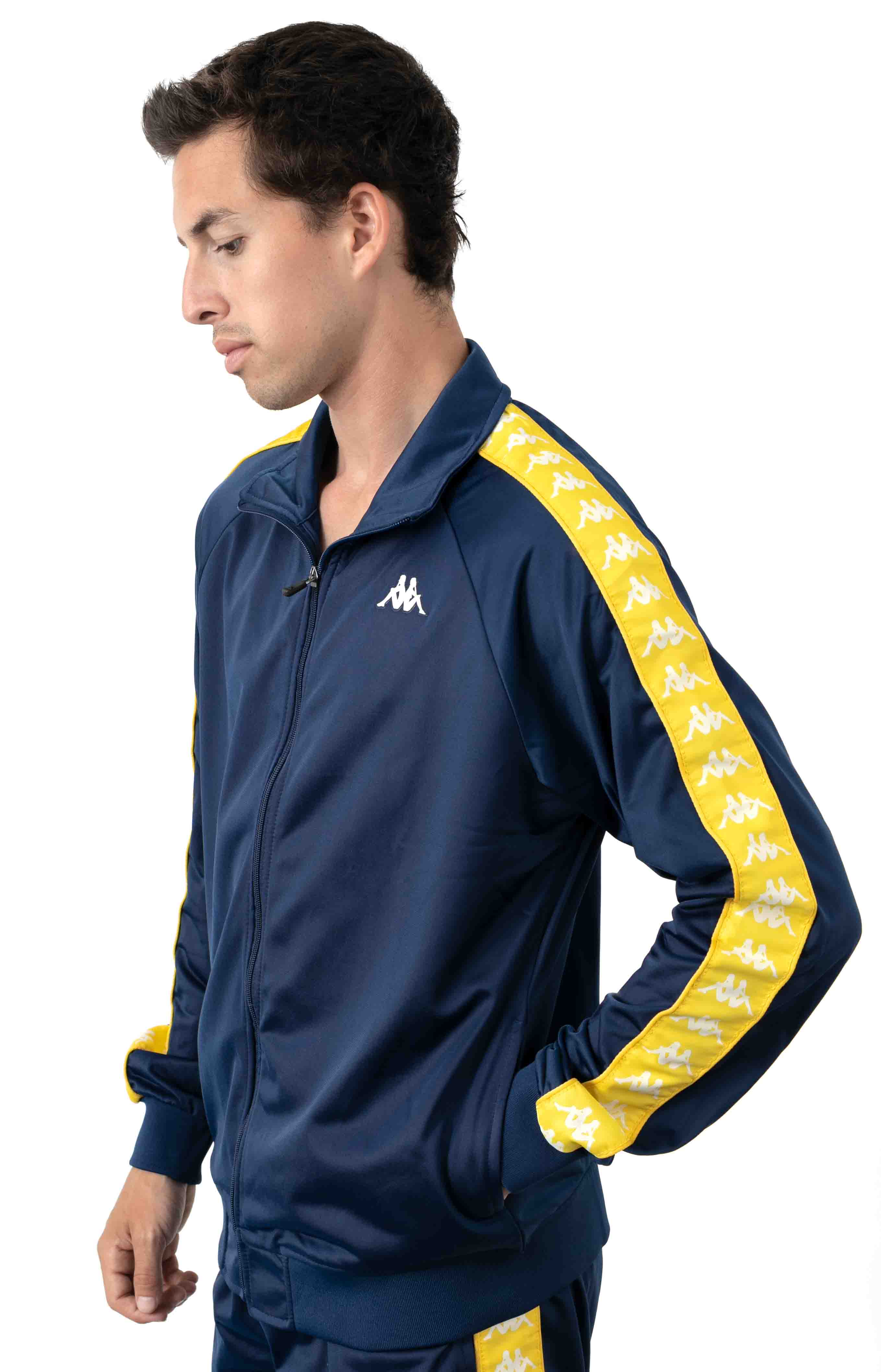 222 Banda Anniston Jacket - Blue Mid/Yellow Yolk 2