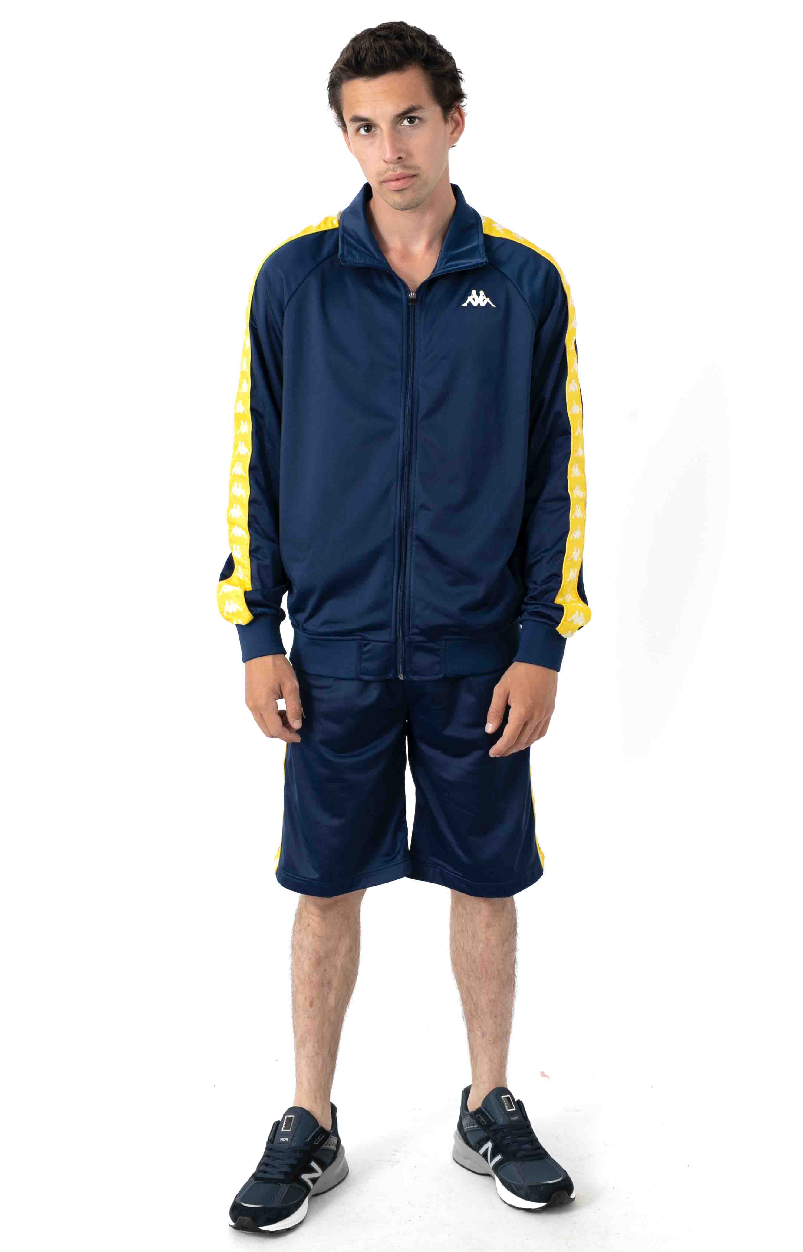 222 Banda Anniston Jacket - Blue Mid/Yellow Yolk 4