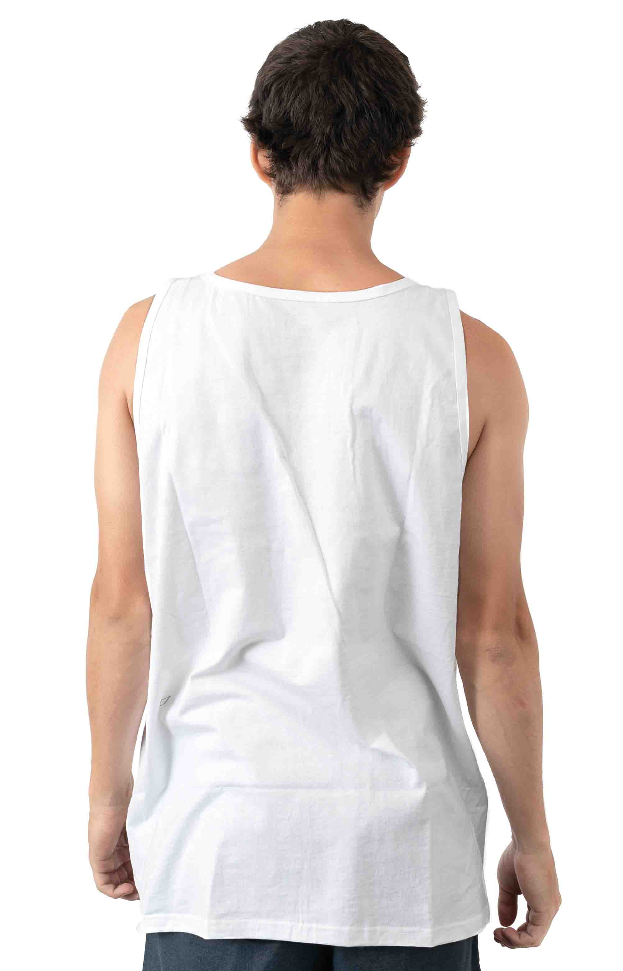 Print Box Tank Top - White 3