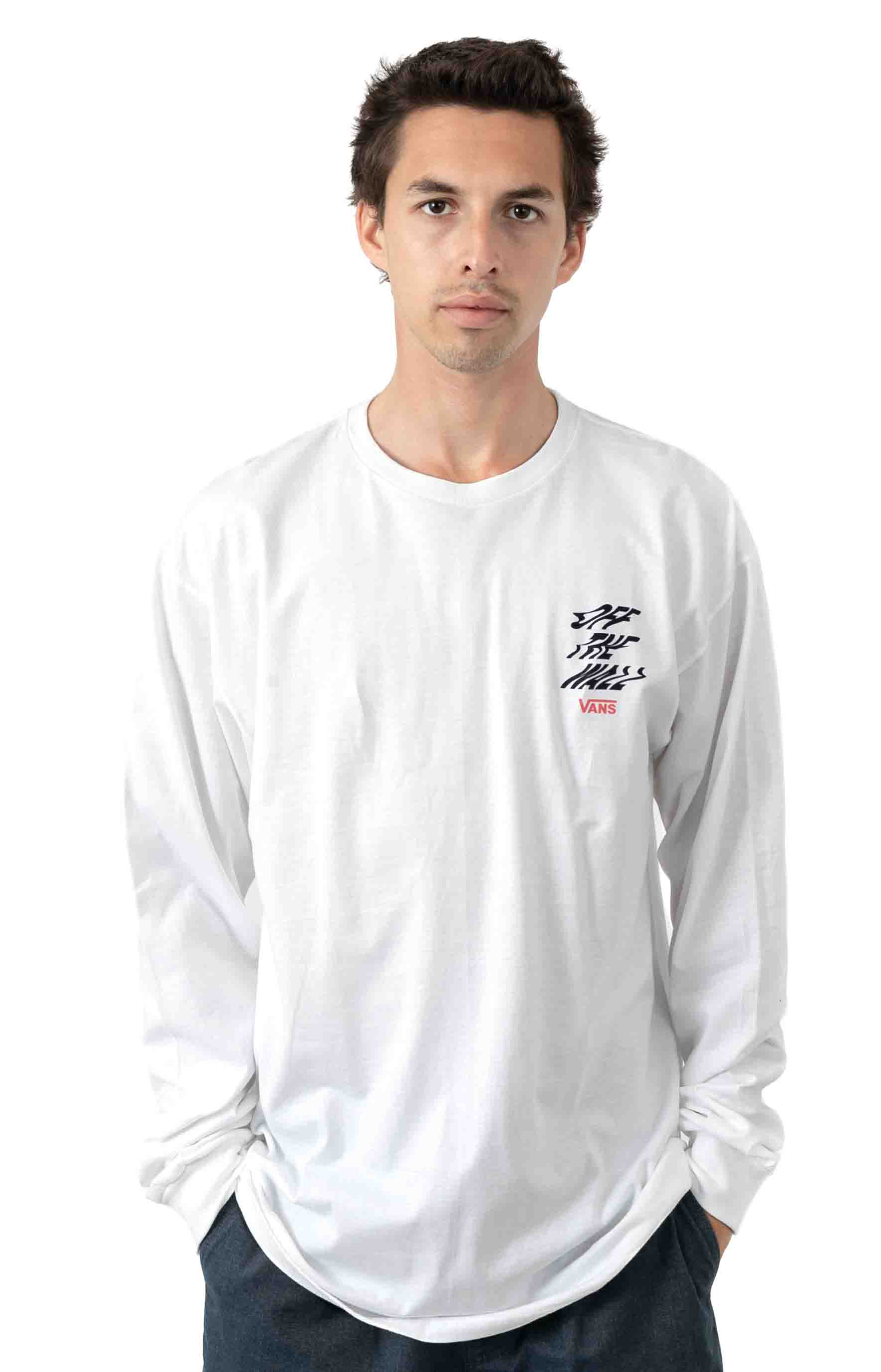 V66 Off The Wall L/S Shirt - White 2