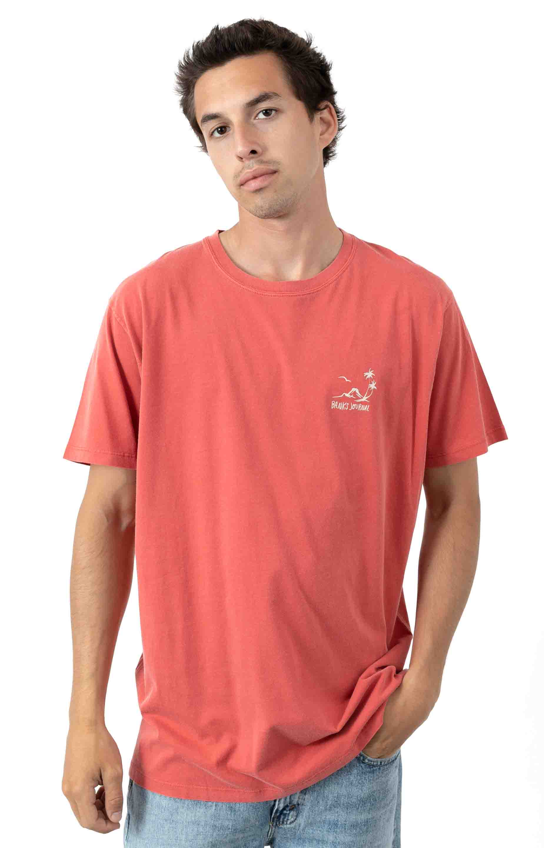 Cape T-Shirt - Burnt Red