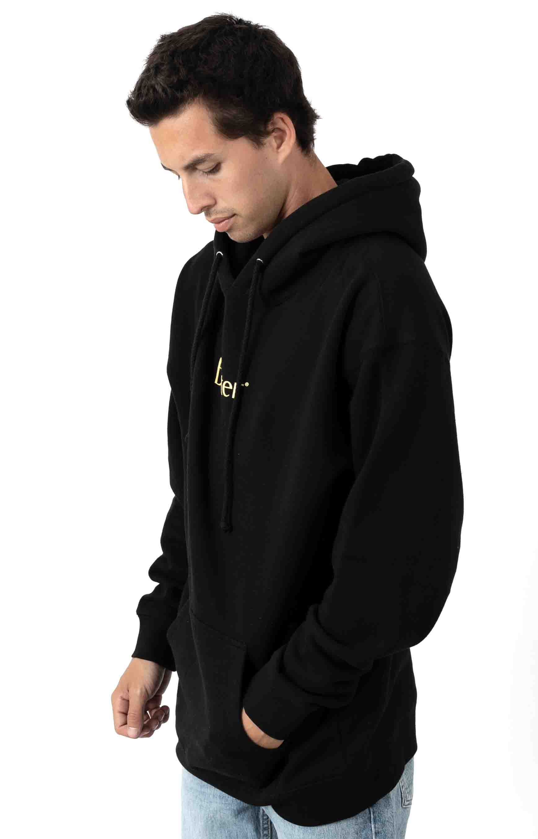 Classic Logo Pullover Hoodie - Black 2