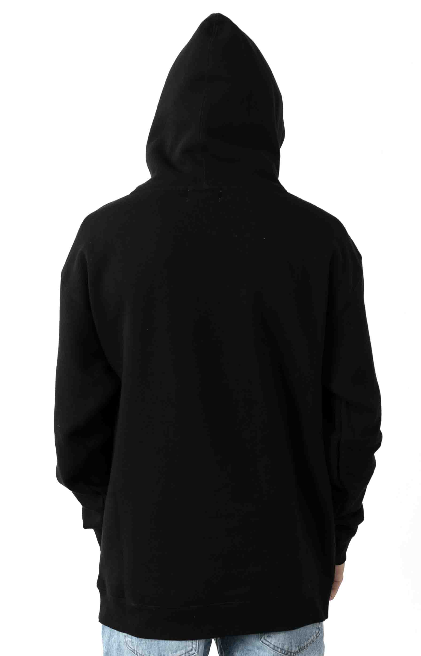 Classic Logo Pullover Hoodie - Black 3