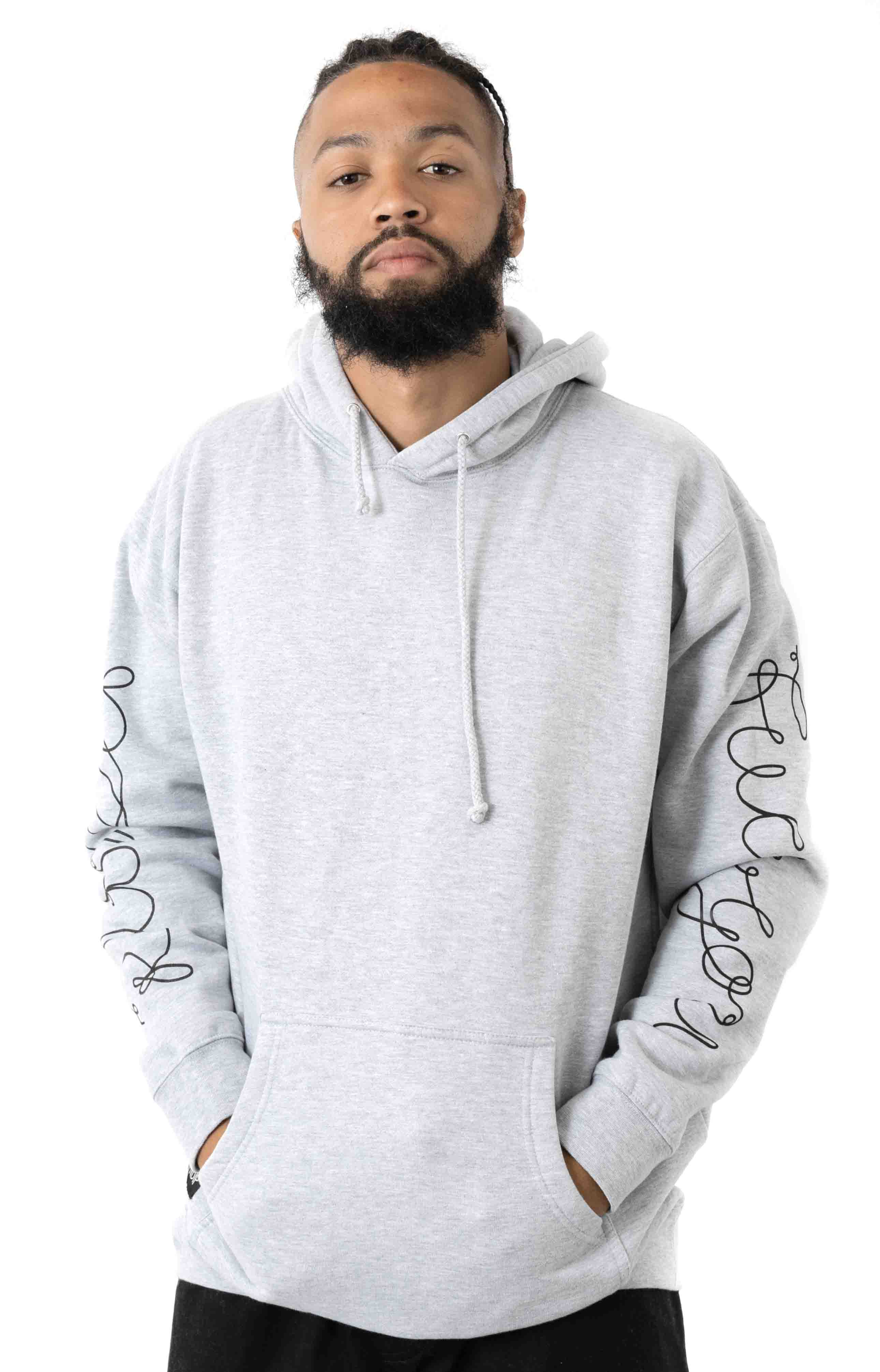Tangled Pullover Hoodie - Ash Grey 2
