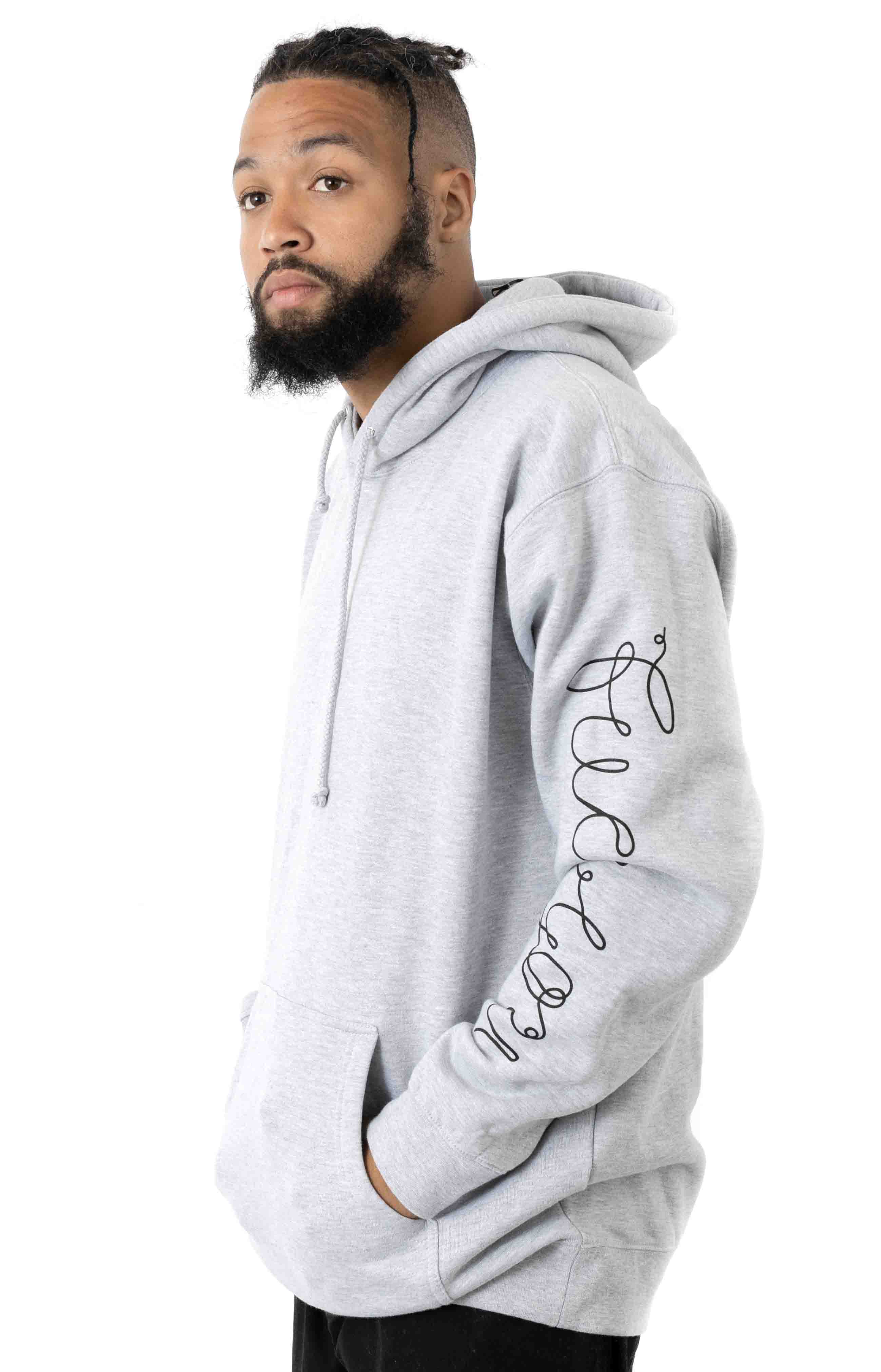Tangled Pullover Hoodie - Ash Grey 3