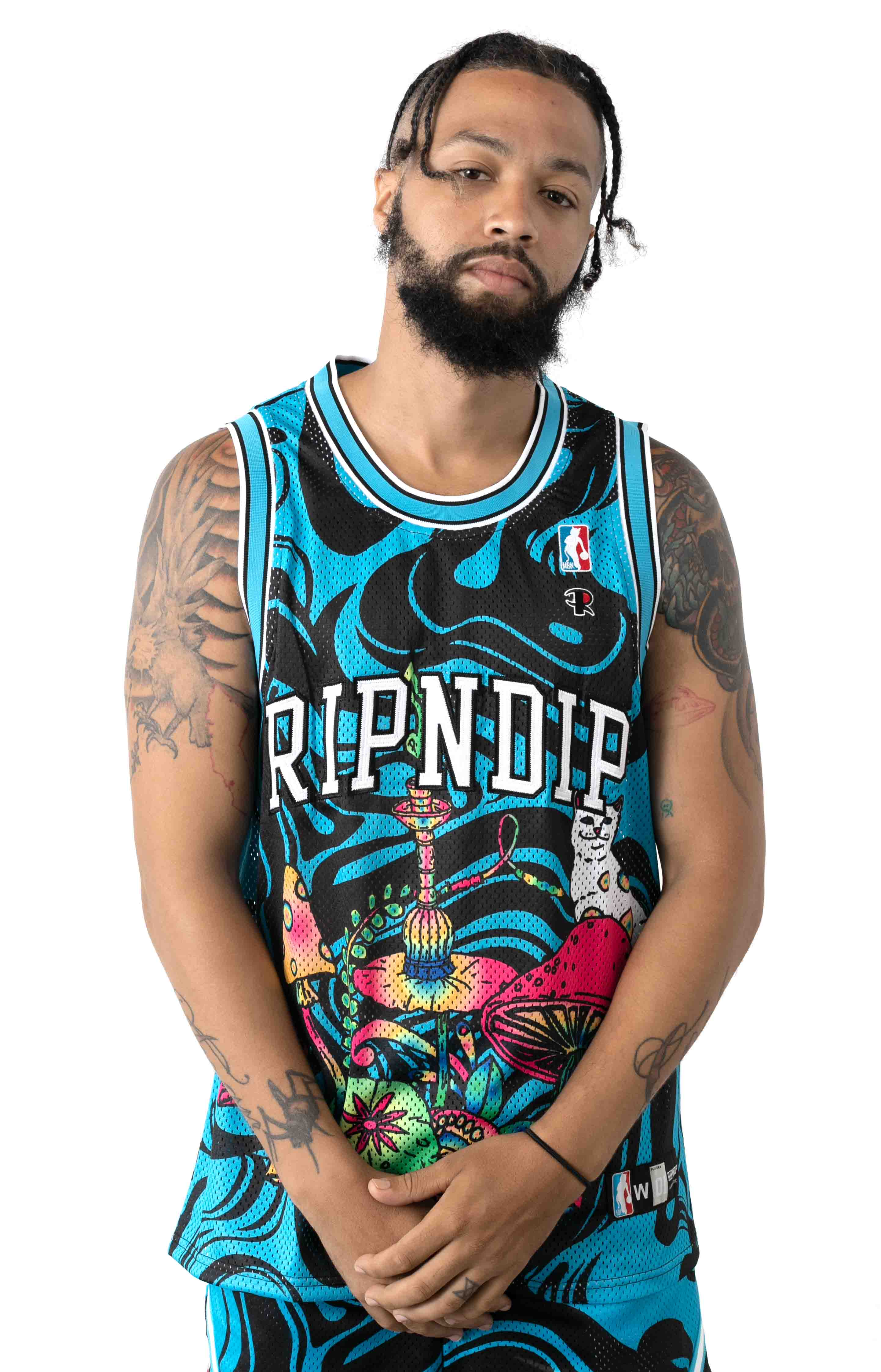 Psychedelic Basketball Jersey