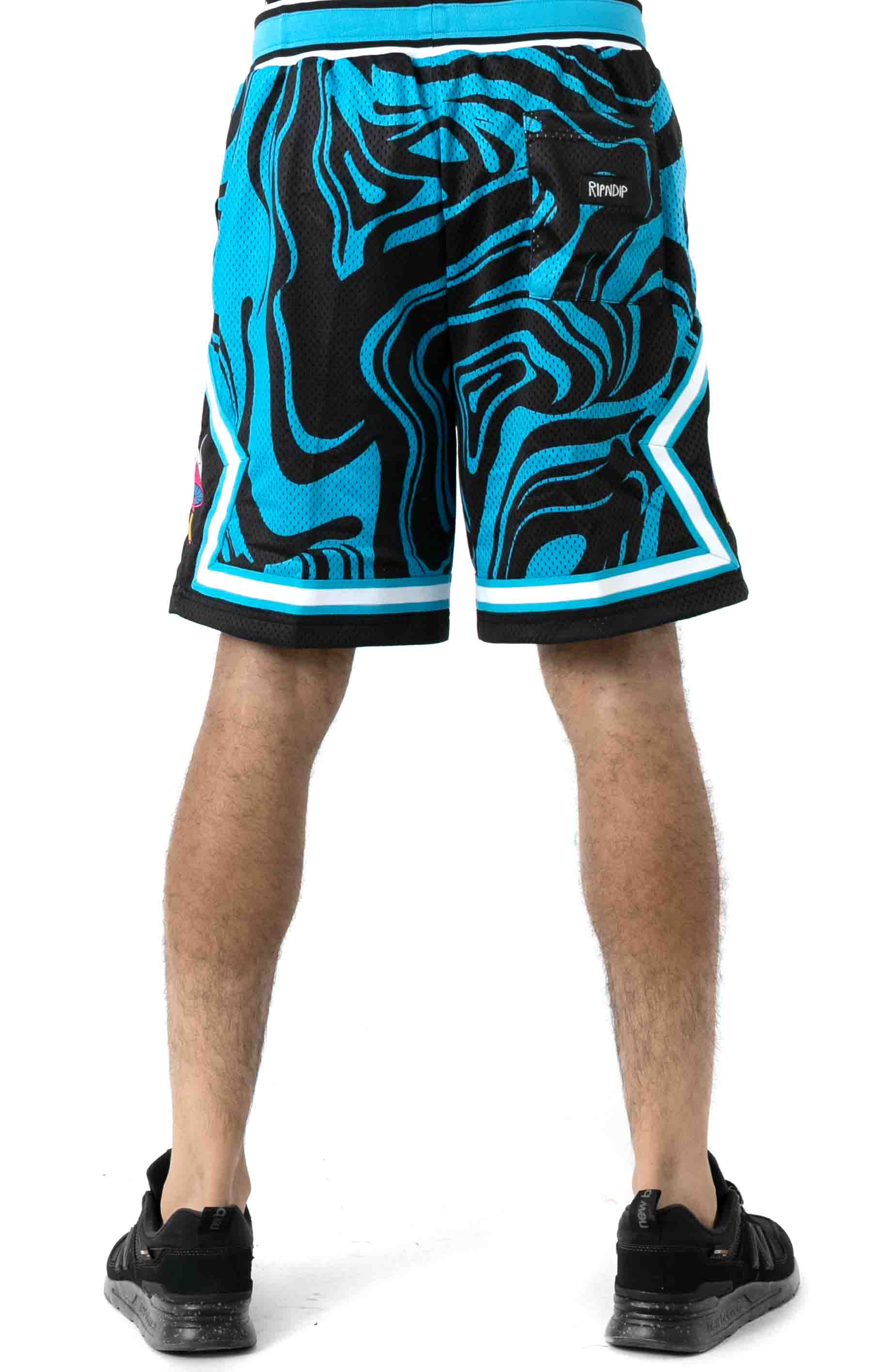 Psychedelic Basketball Shorts  3