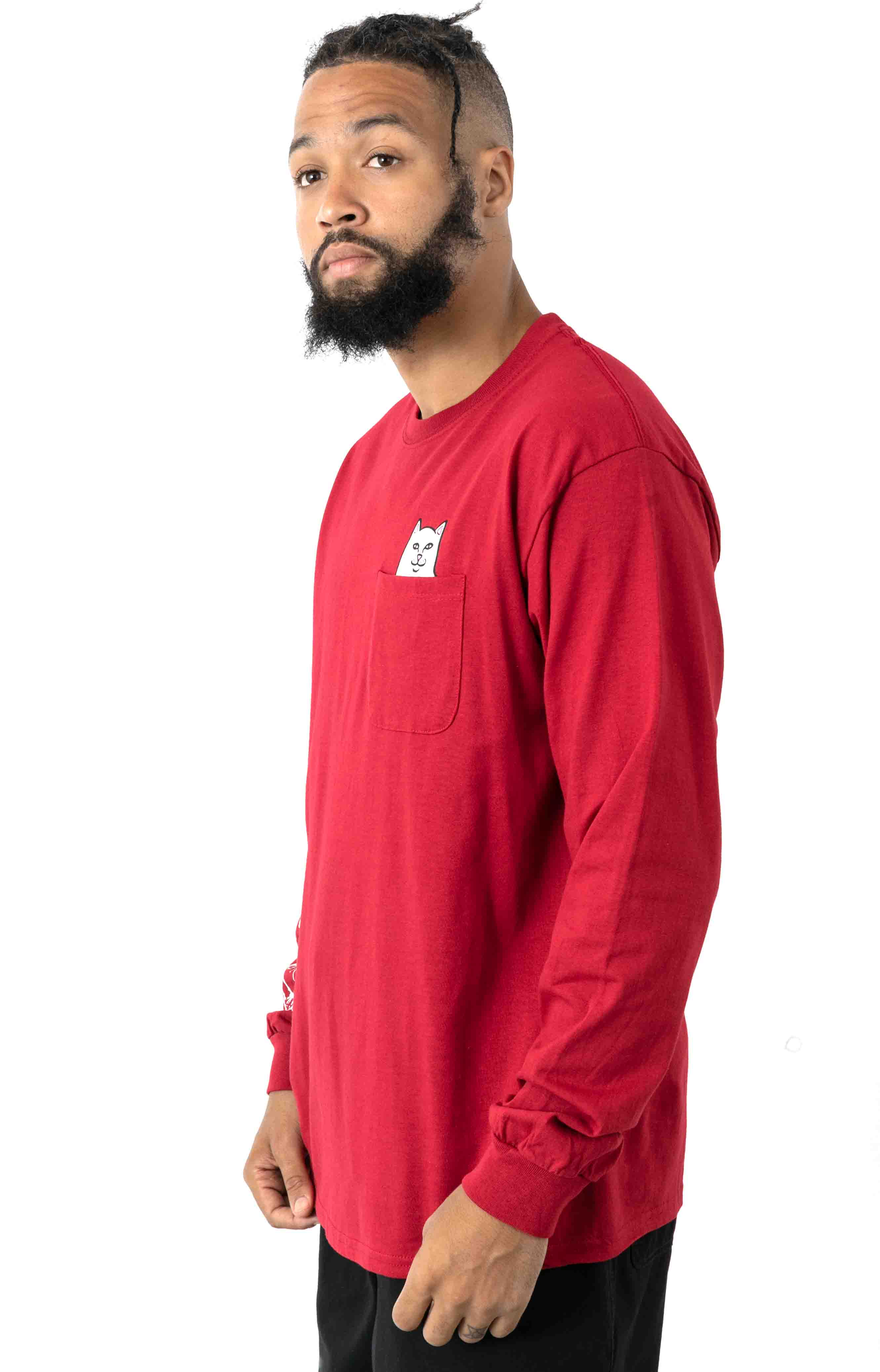 Lord Nermal L/S Shirt - Red  2