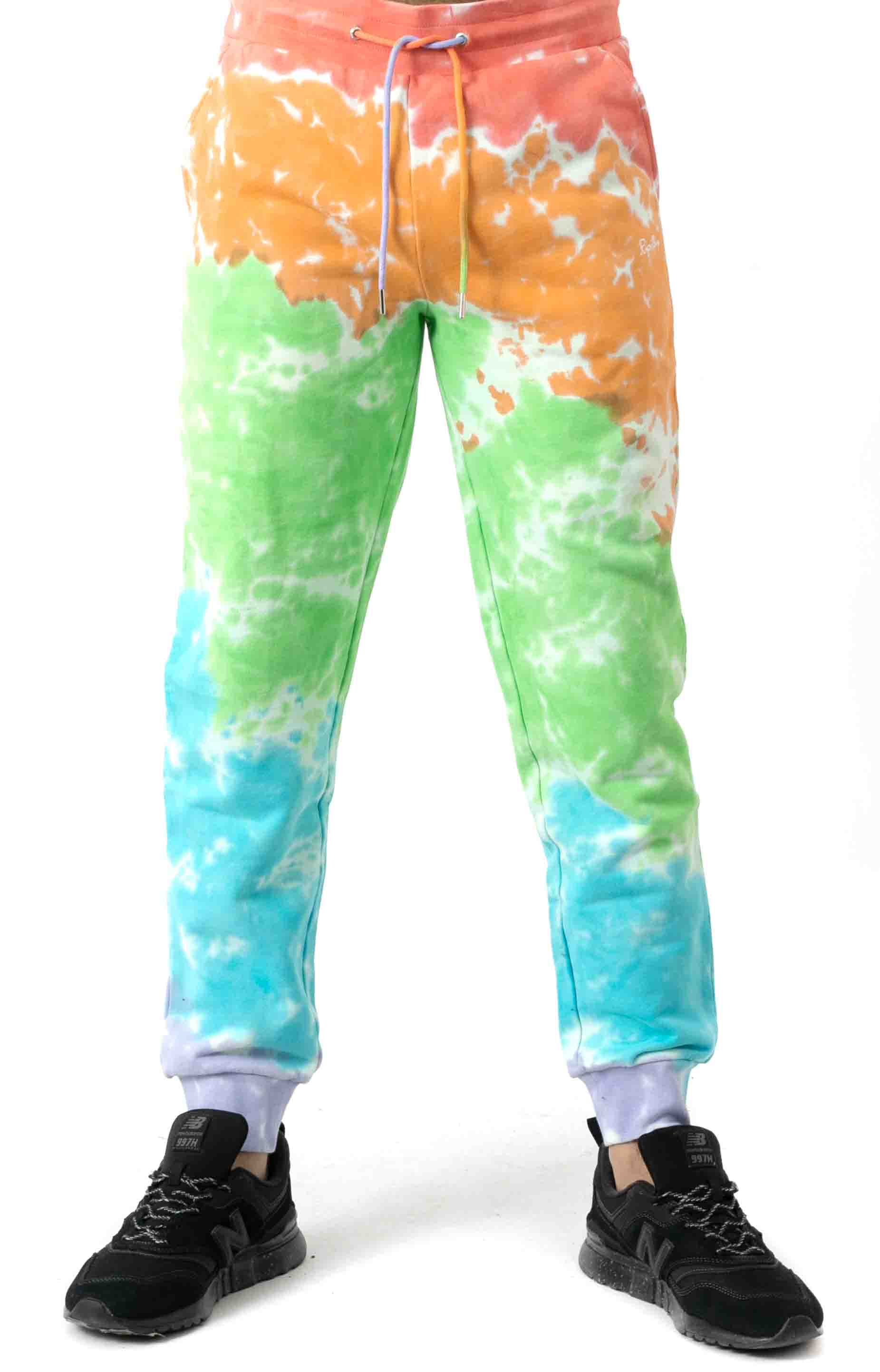 Peeking Nerm Sweatpants - Blotch Tie-Dye 2