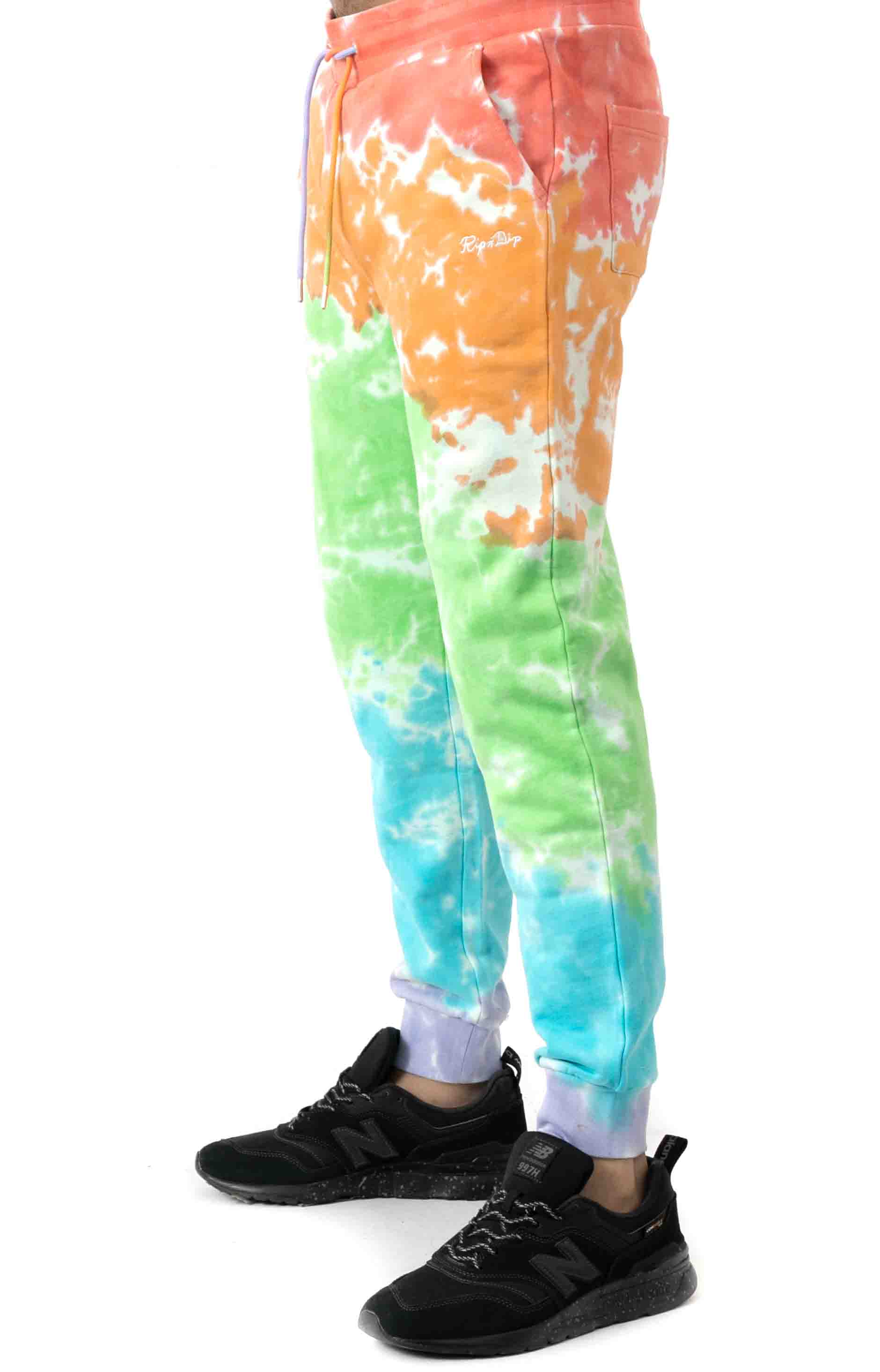 Peeking Nerm Sweatpants - Blotch Tie-Dye