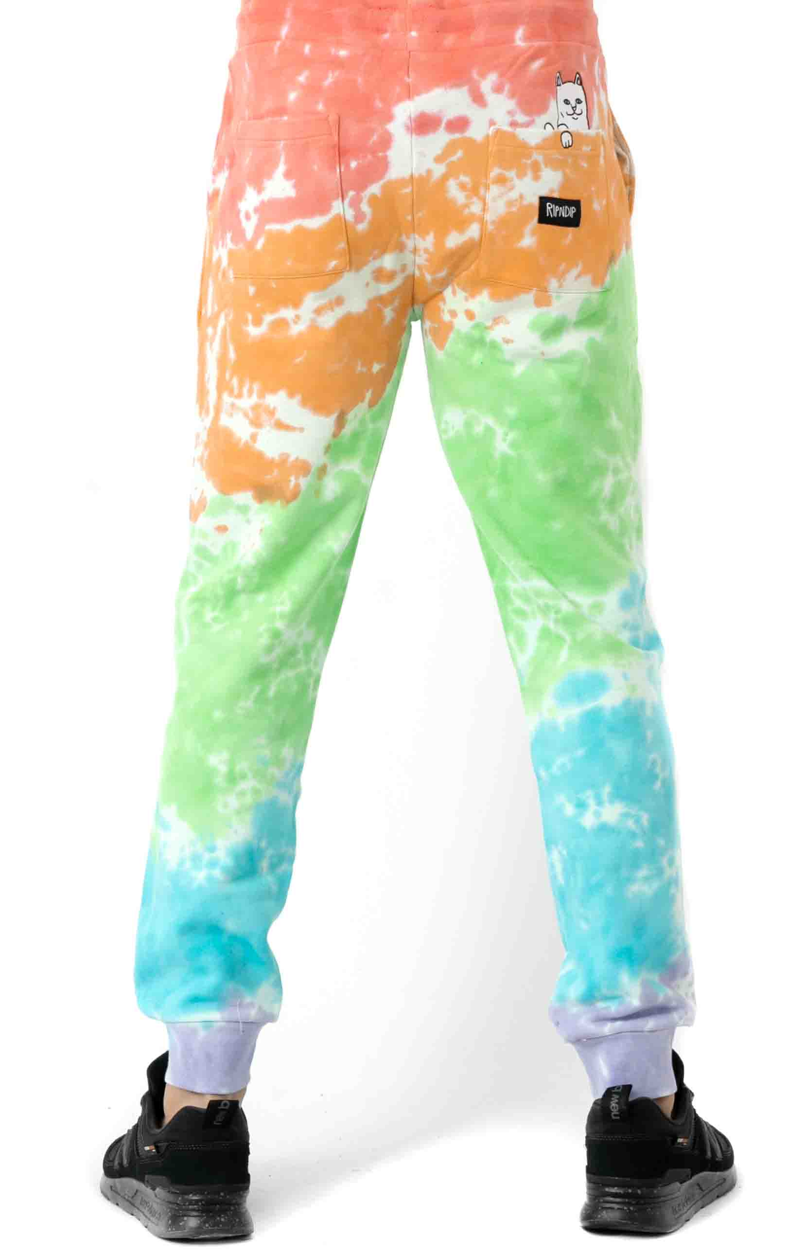 Peeking Nerm Sweatpants - Blotch Tie-Dye 3