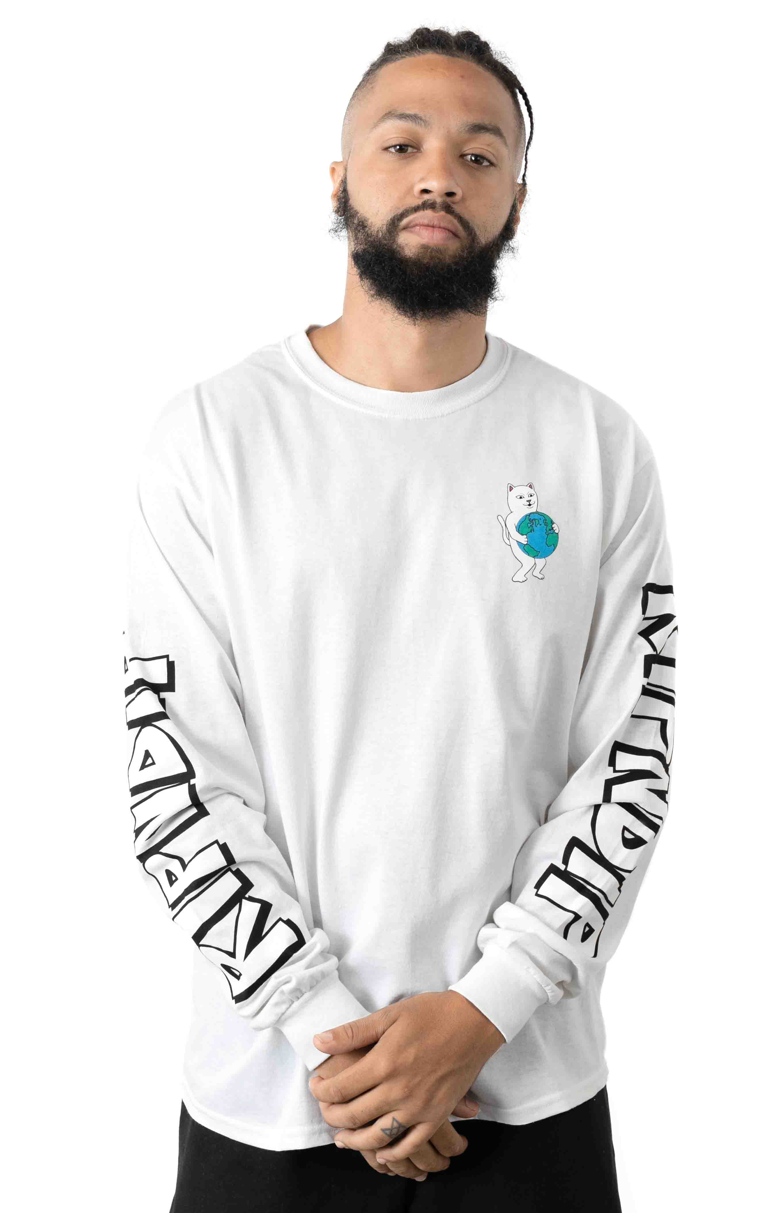 F*ck Everything L/S Shirt - White
