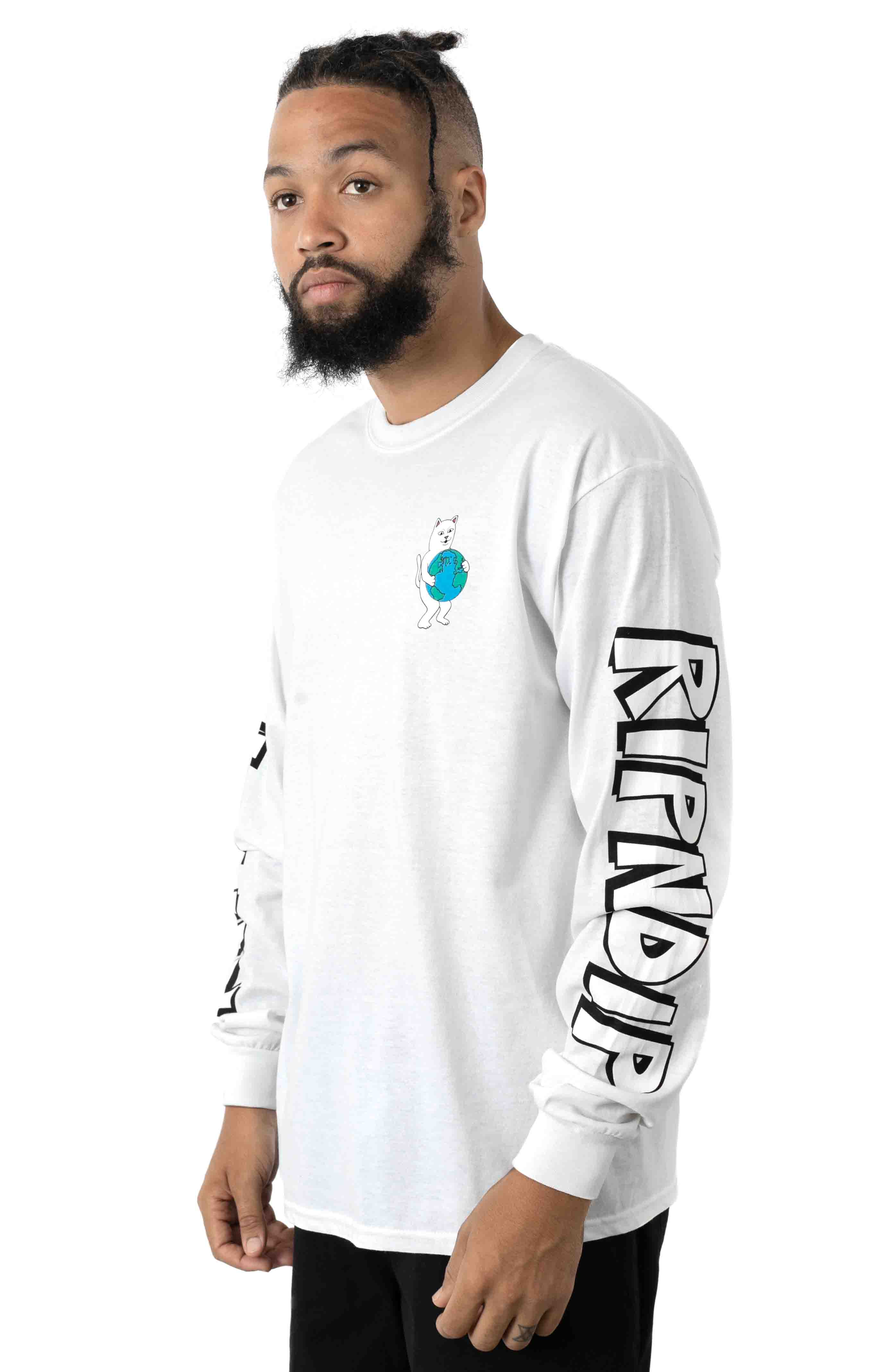 F*ck Everything L/S Shirt - White  2